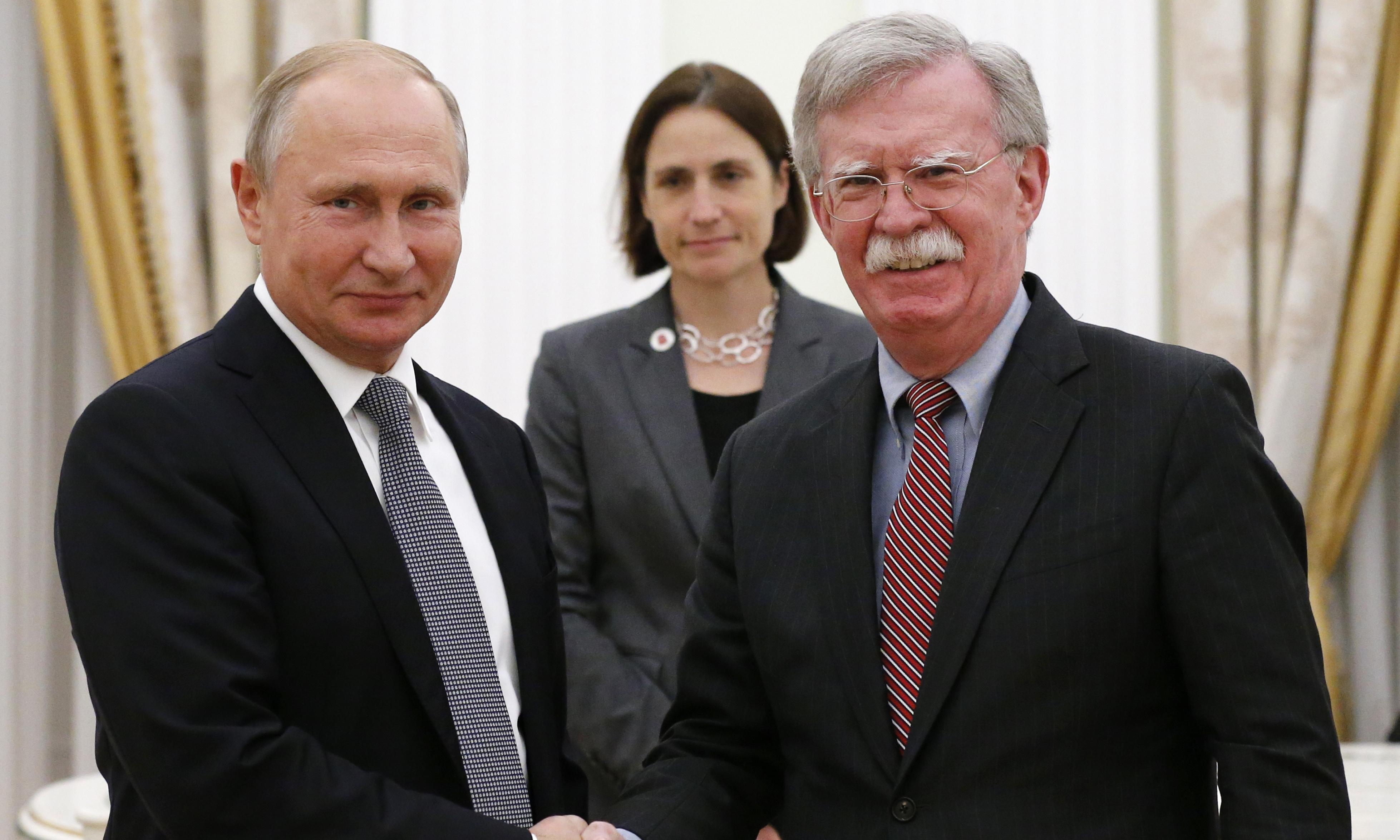 US confirms withdrawal from nuclear arms treaty with Russia
