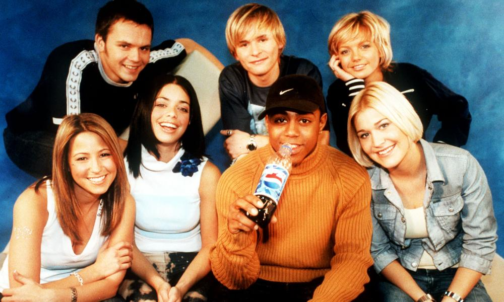 S Club 7 in happier times.