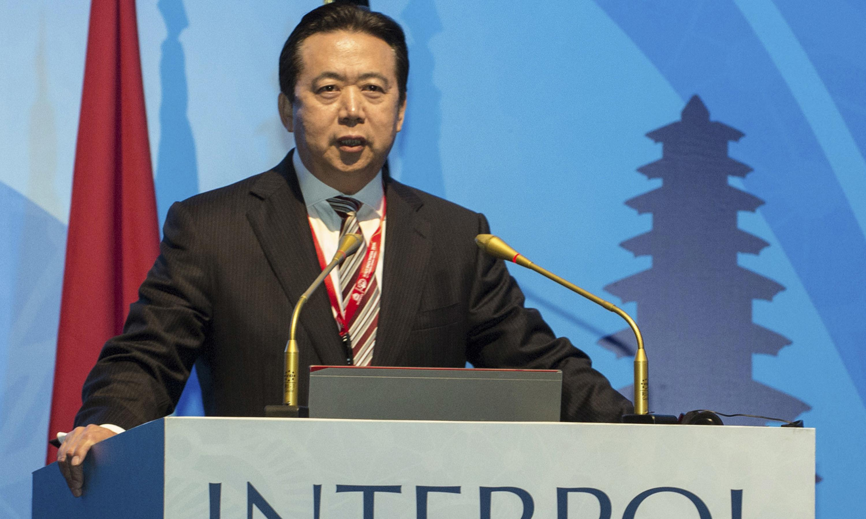 Former Interpol chief Meng Hongwei put on trial for bribery in China