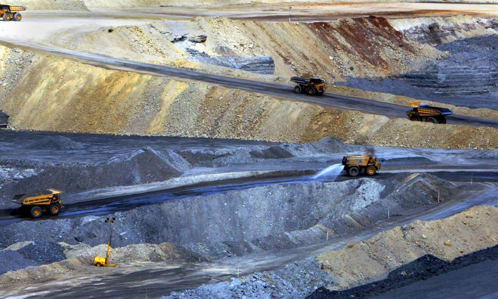 The Acland coalmine.