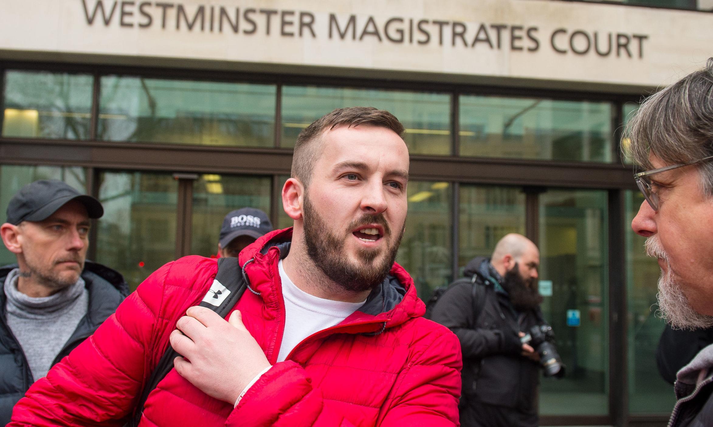 Pro-Brexit activist James Goddard denies harassing Anna Soubry