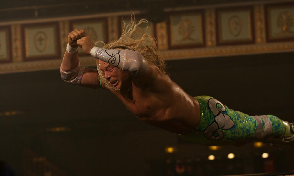 Mickey Rourke in The Wrestler.