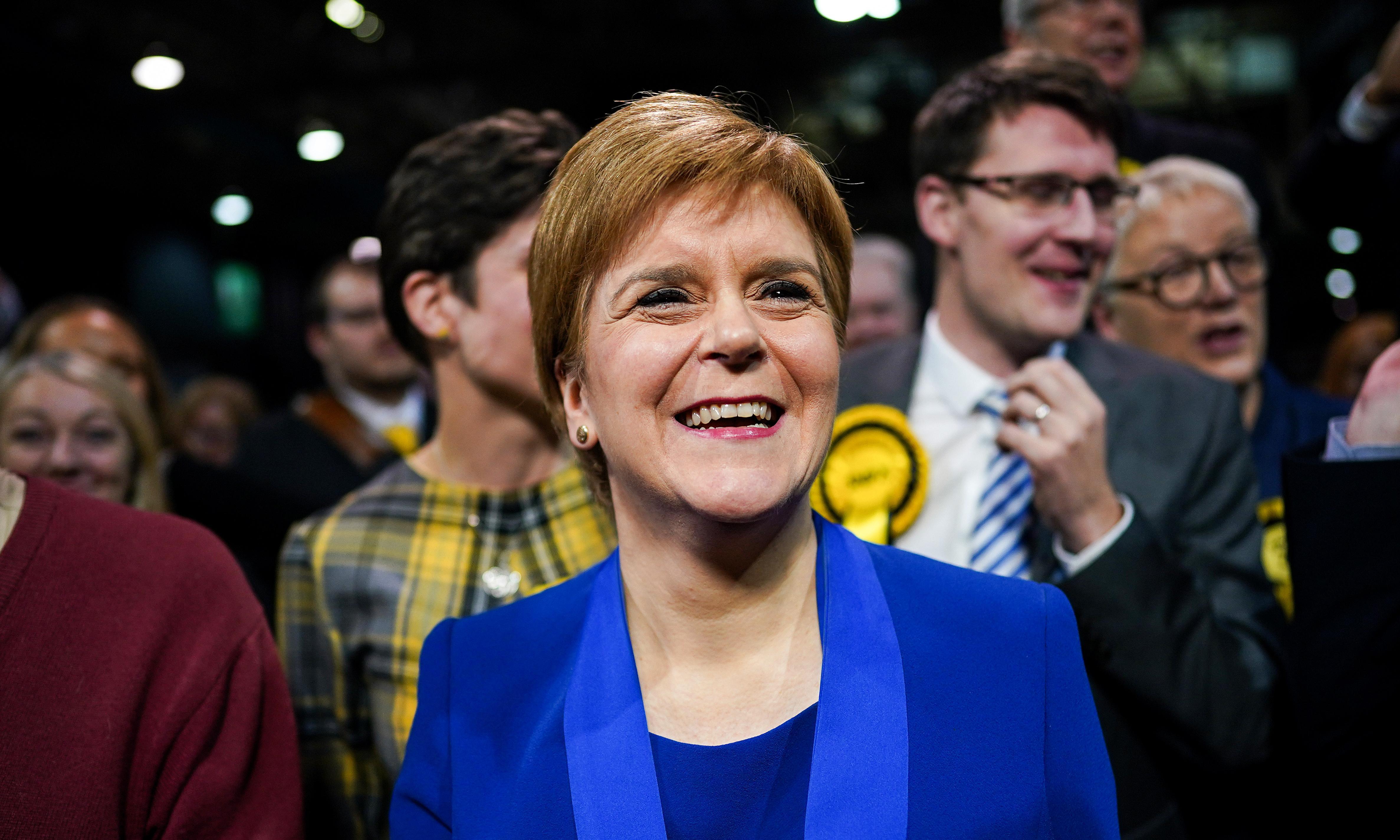 Sturgeon demands Scottish independence referendum powers after SNP landslide