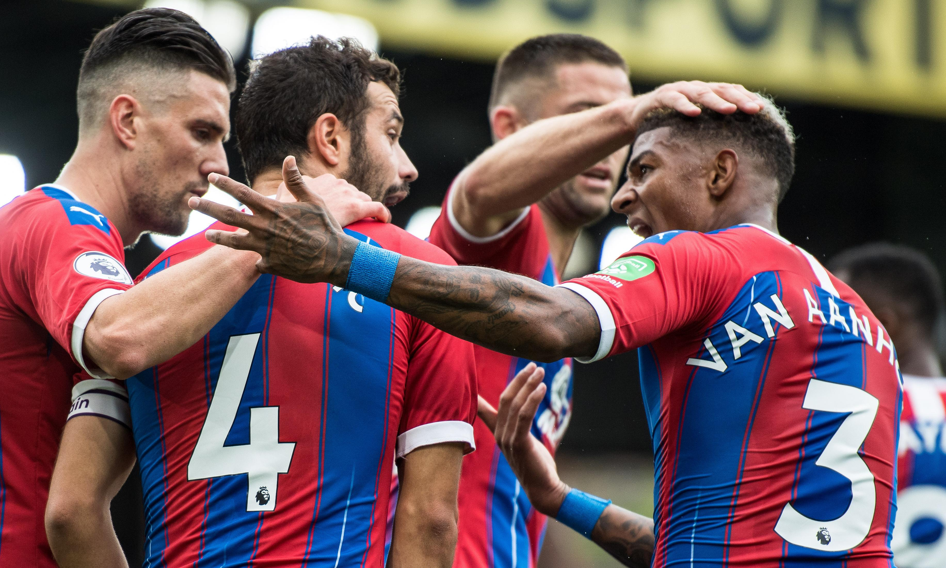 Luka Milivojevic and Andros Townsend score as Crystal Palace beat Norwich