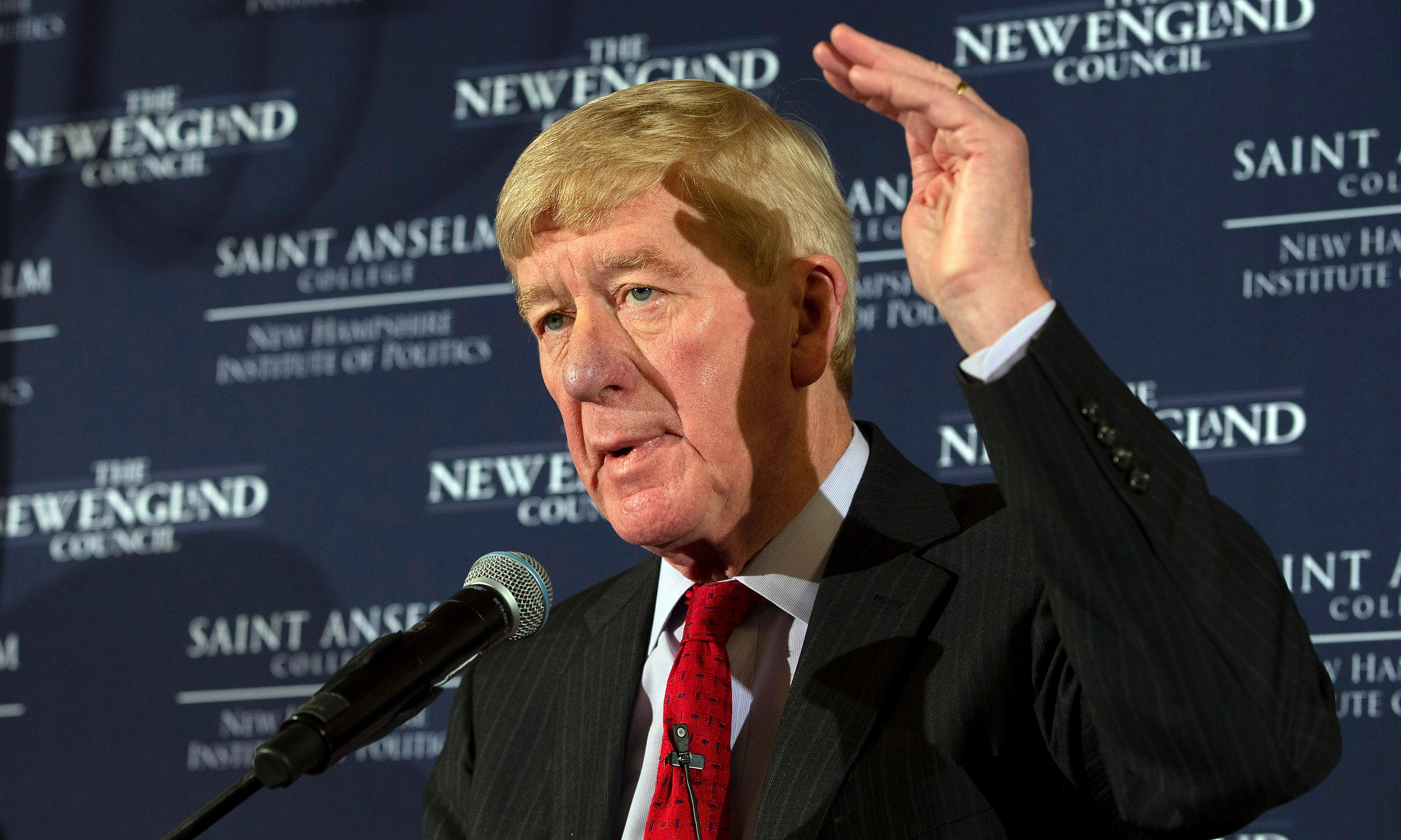 Republican Bill Weld on challenging Trump: 'It's going to be a lot of fun'