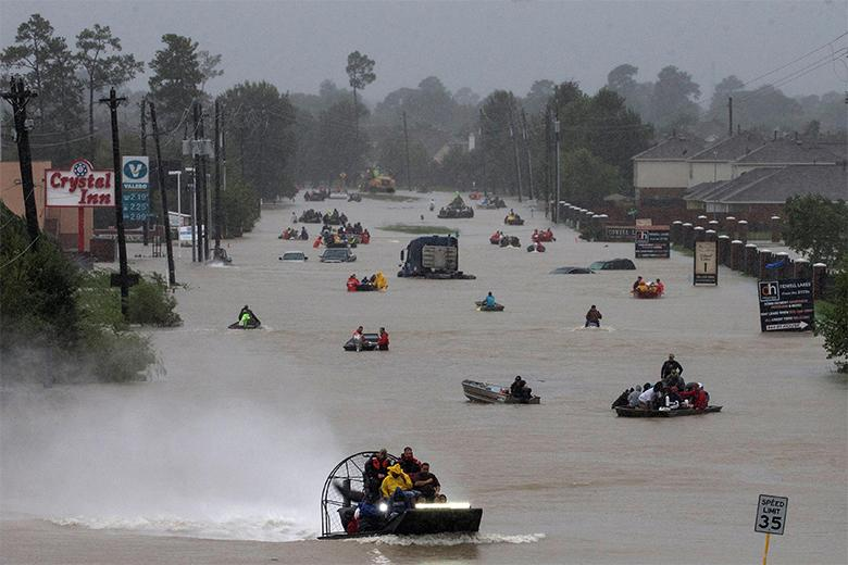 Thousands Await Rescue Amid Catastrophic Flooding In Texas As - Us map after flooding