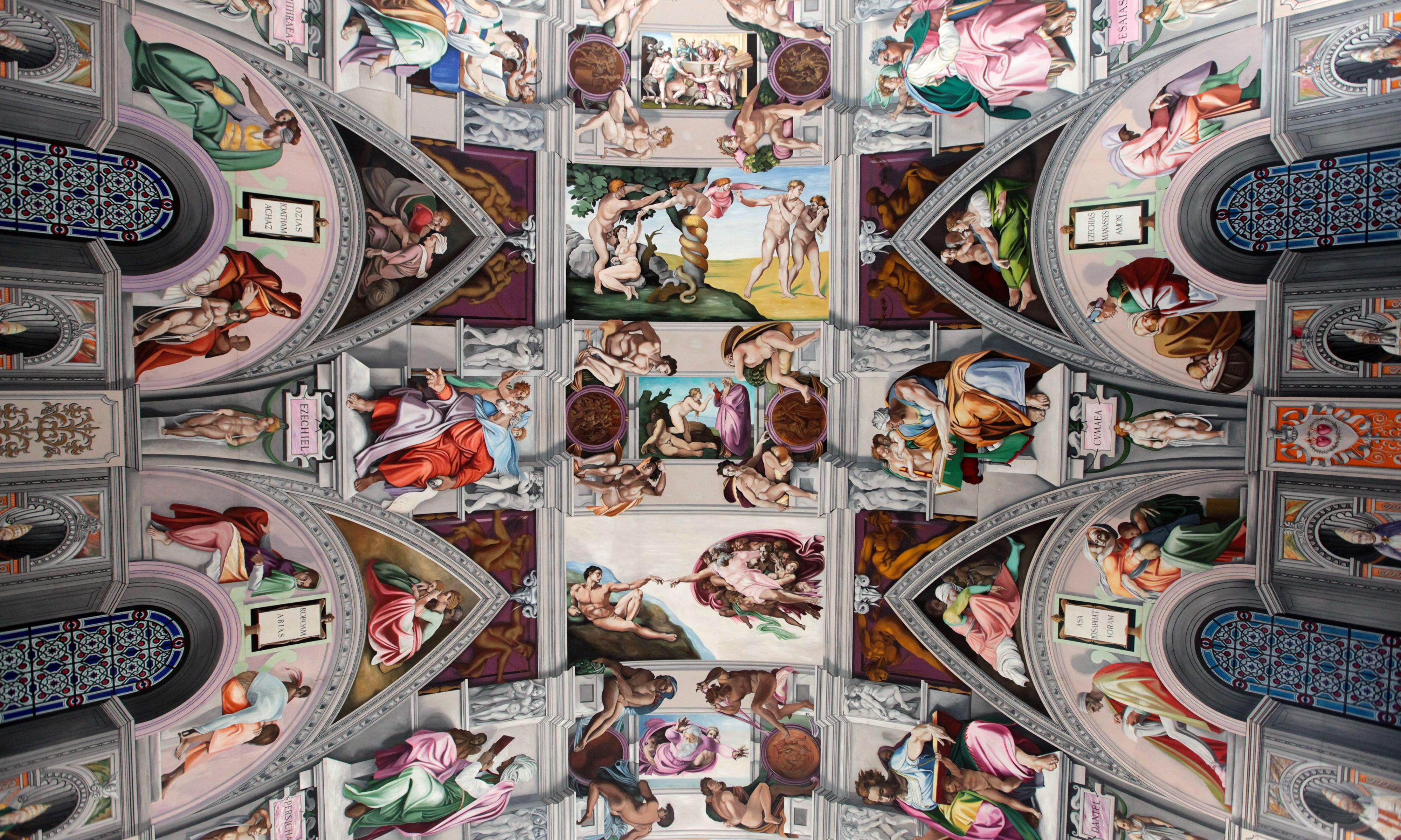 The Sistine Chapel in Sussex – painted by the Michelangelo of Goring-by-Sea