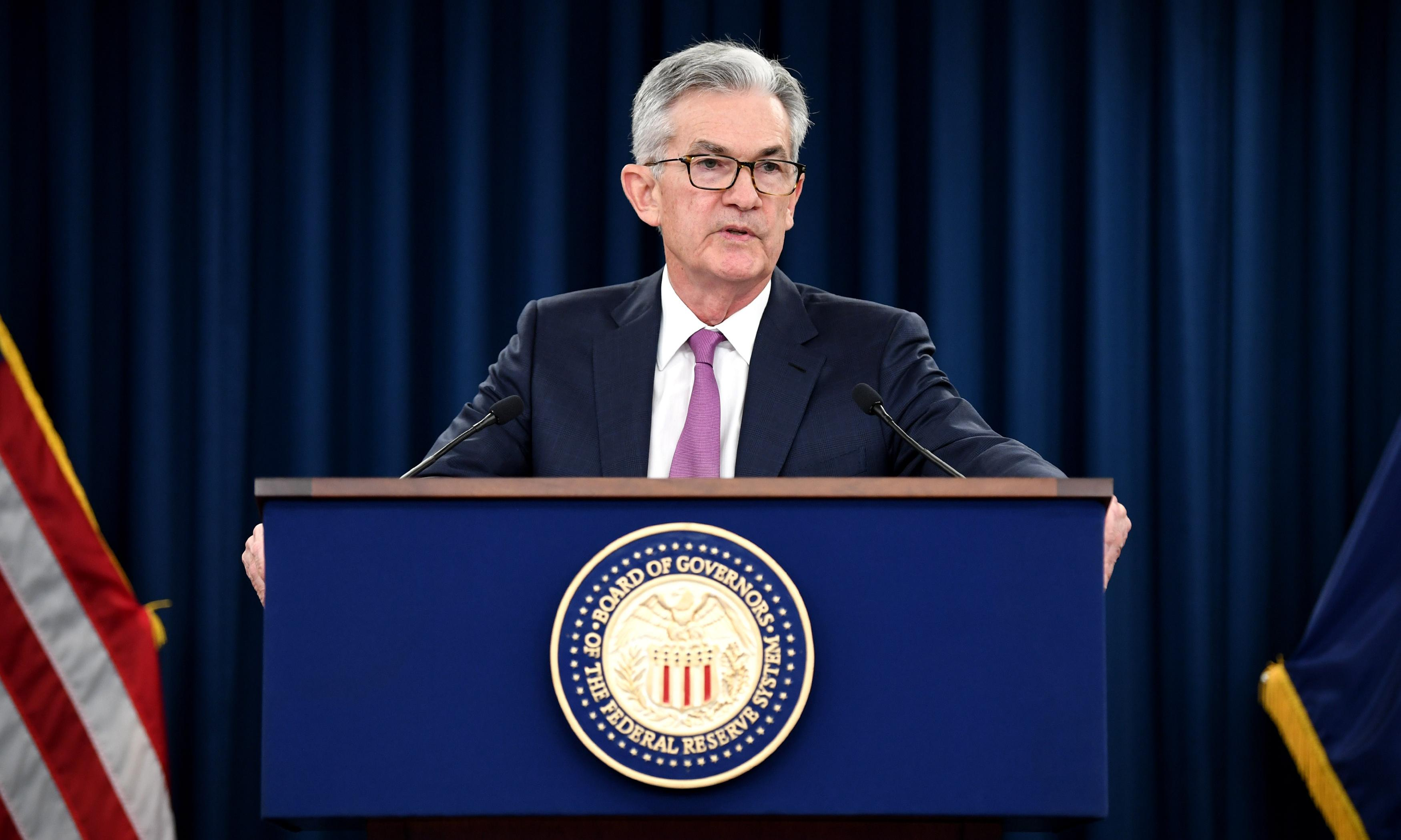 Trump denies 'ever threatening to demote' Fed chairman Jerome Powell