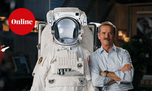 Former astronaut Chris Hadfield