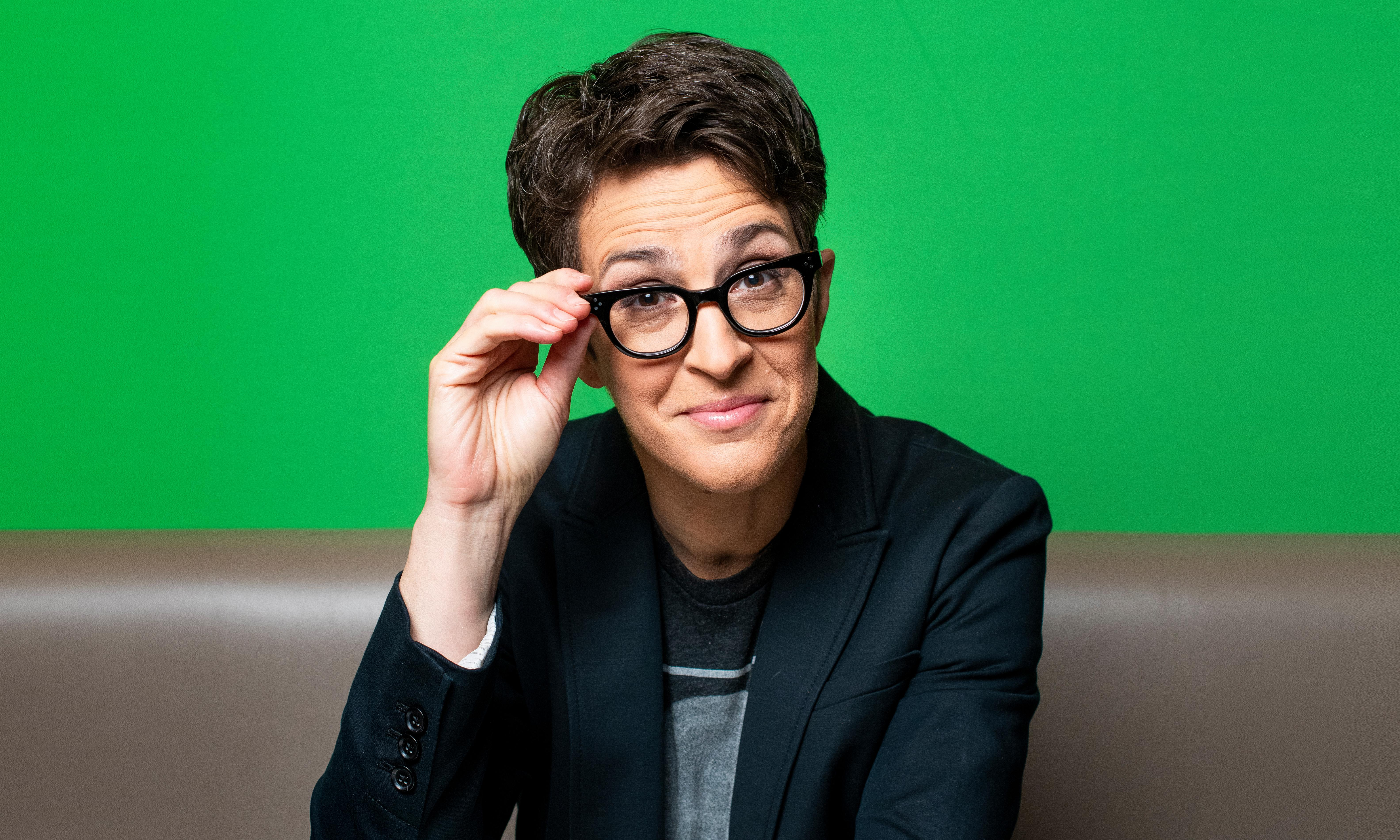 Rachel Maddow on her critics: 'Your hatred makes me stronger. Come on! Give me more!'