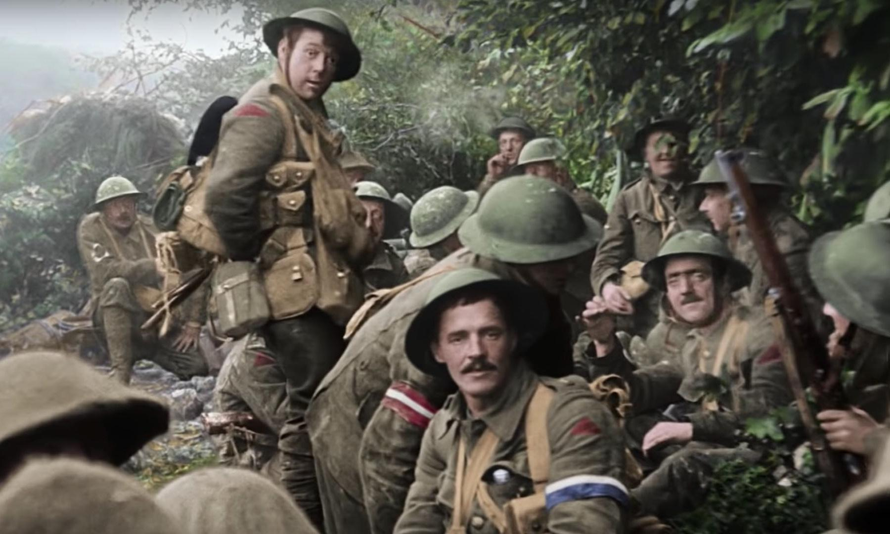 They Shall Not Grow Old review – an utterly breathtaking journey into the trenches
