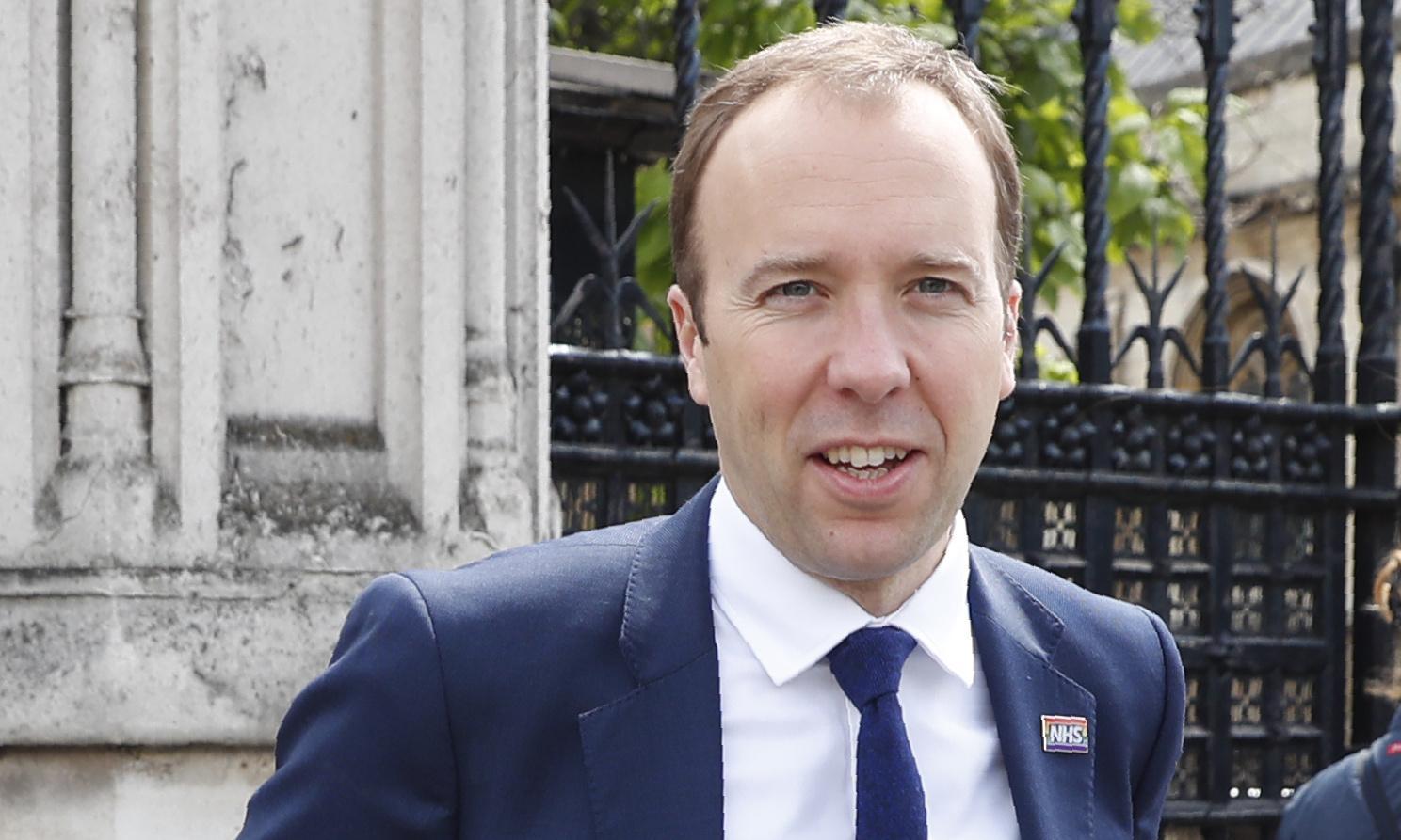 Matt Hancock backs Boris Johnson in Tory leadership race