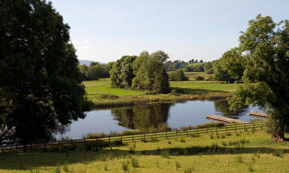Wooden Jetty, Upper Lough Erne