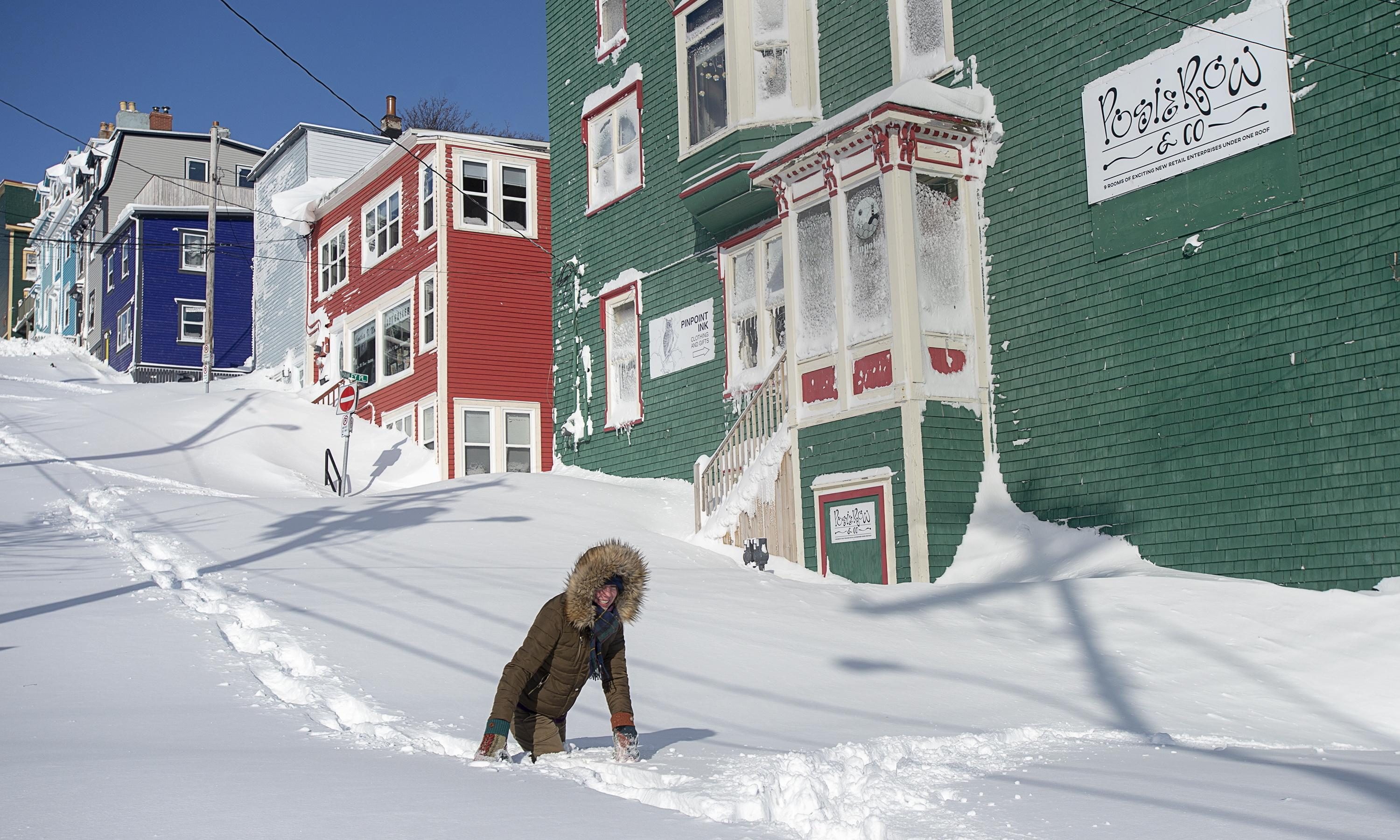 'Snowmageddon': cleanup begins after record Newfoundland storm