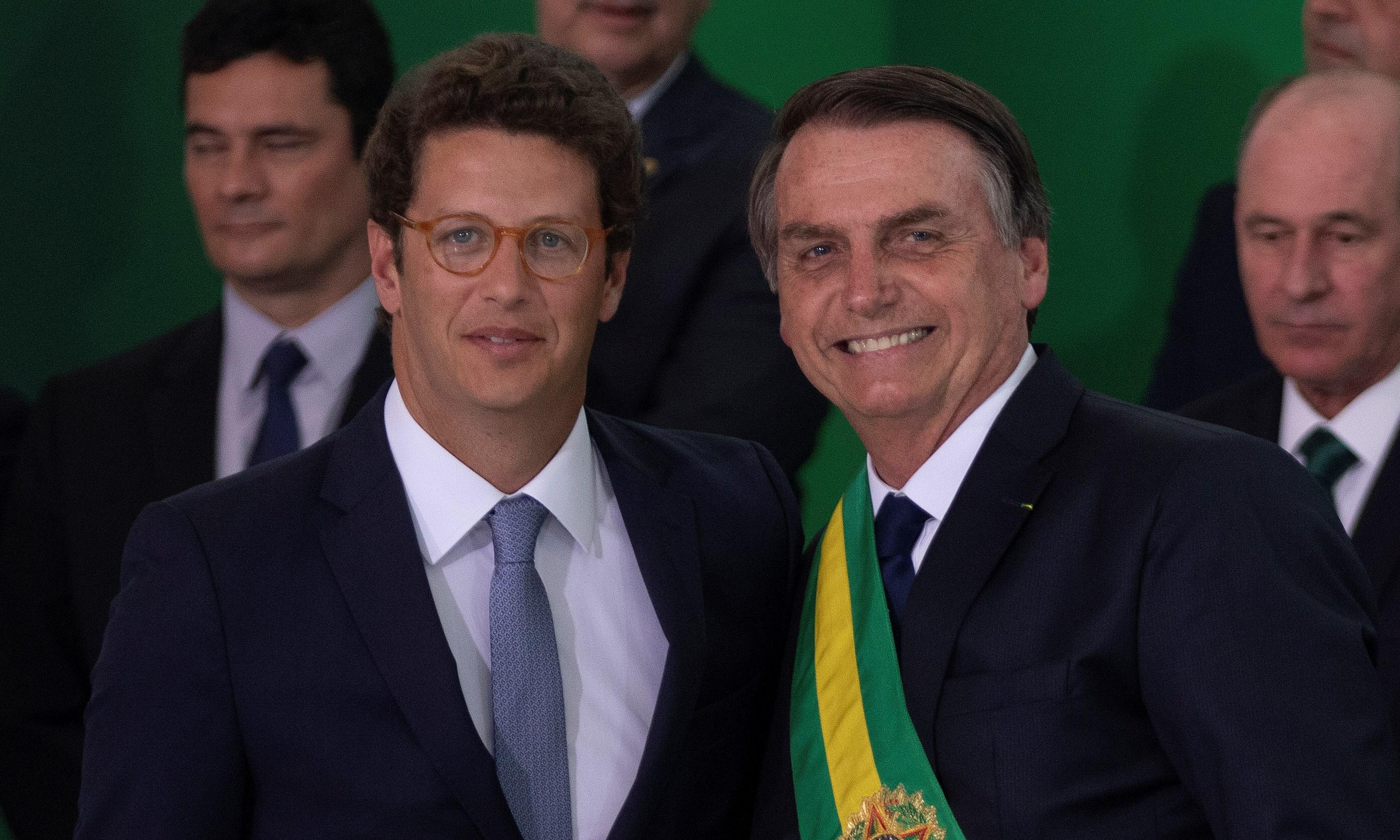 Brazil environment chief accused of 'war on NGOs' as partnerships paused