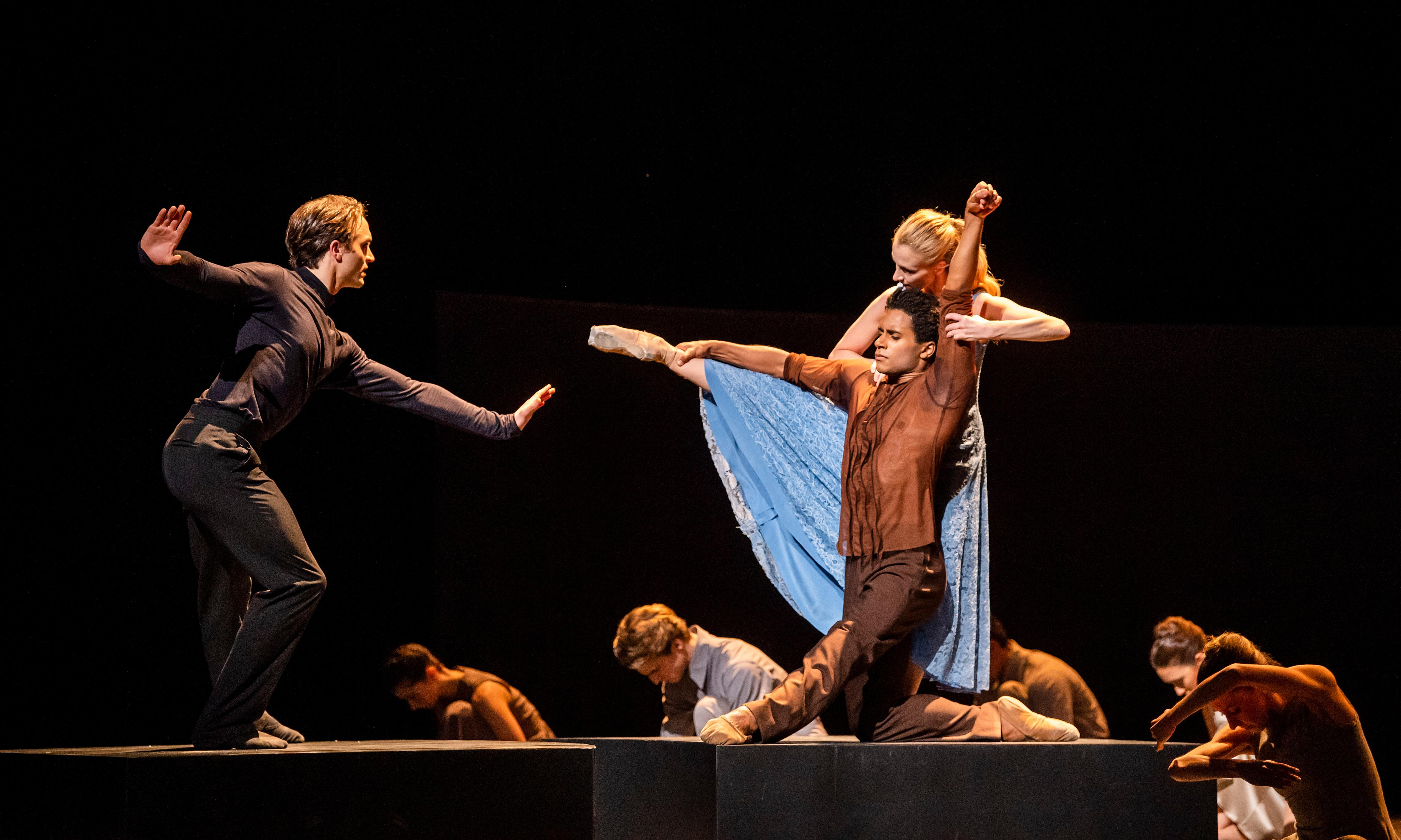 The week in dance: The Cellist/Dances at a Gathering; Message in a Bottle – review