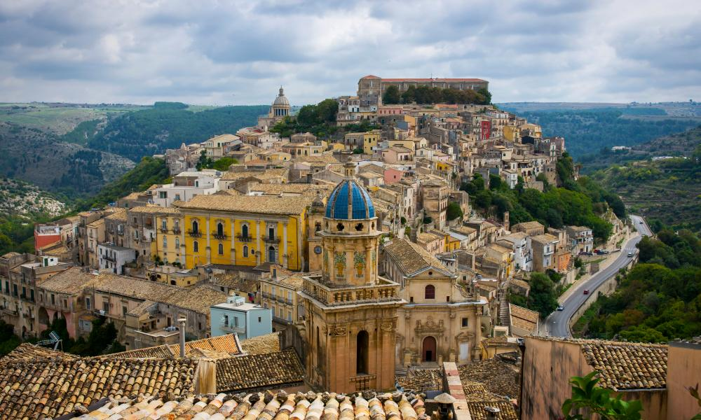 Ragusa Ibla, the medieval old town.