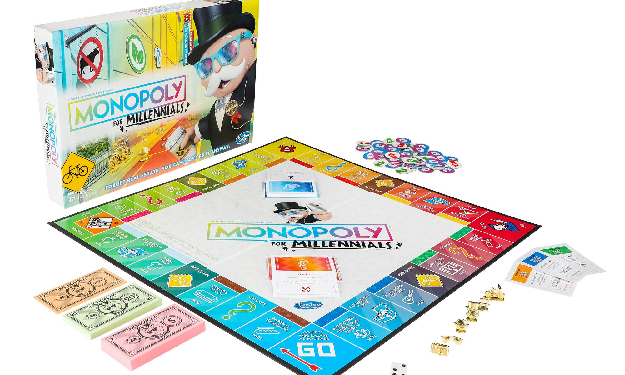 Monopoly for Millennials: trolling about my generation