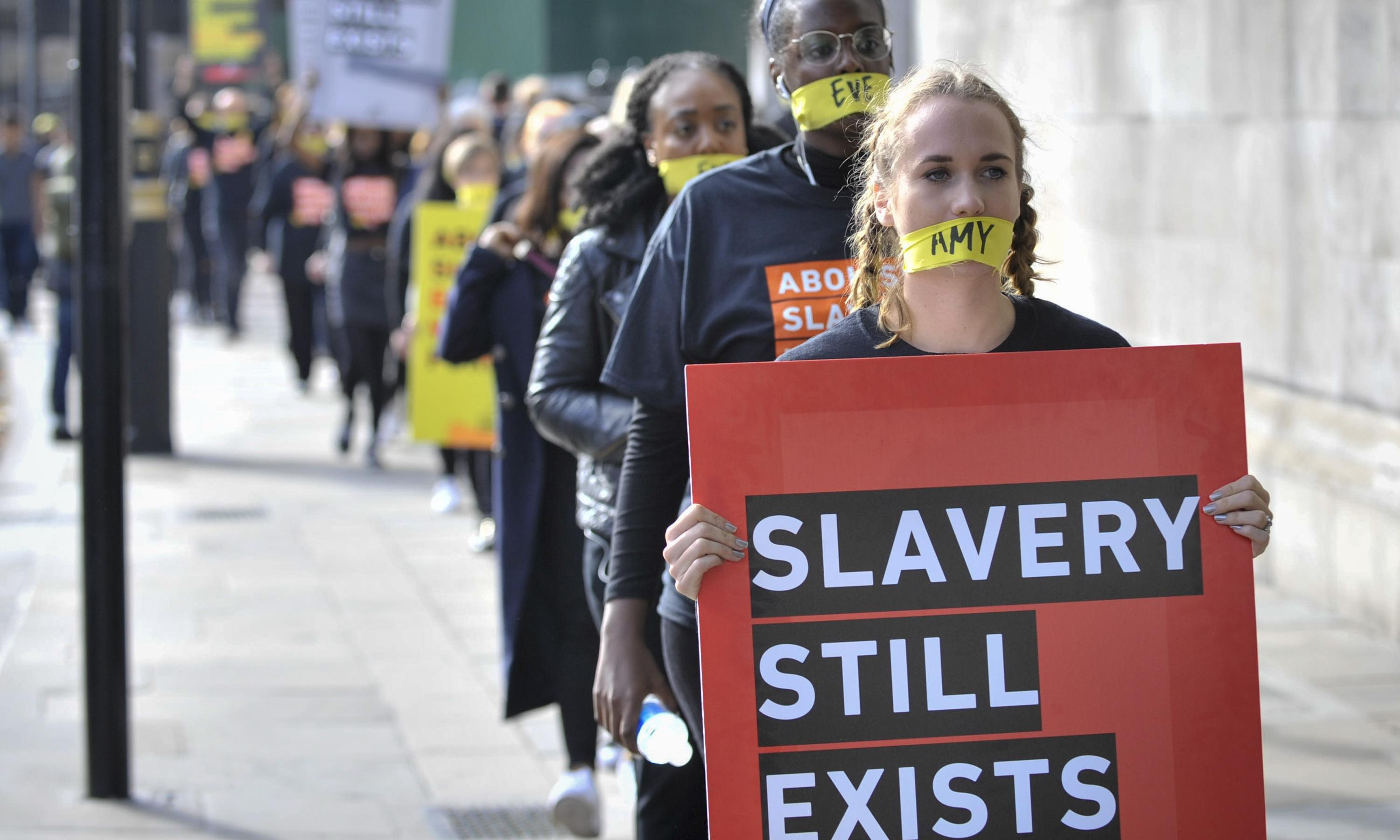 Number of slavery victims in London up tenfold in five years