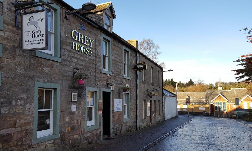 The Grey Horse, Balerno, Scotland