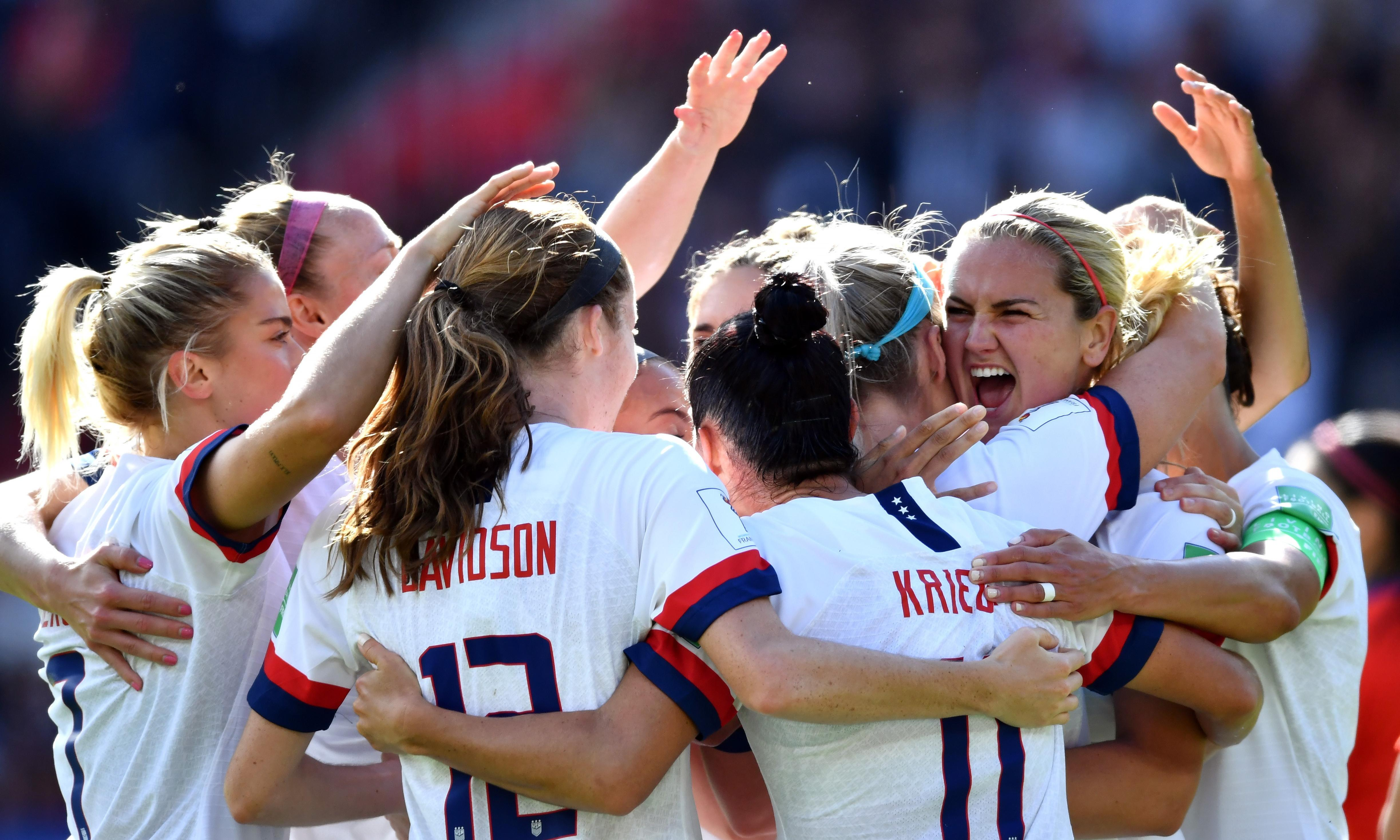 USA women face Sweden in first true test with chance to exorcise Rio ghosts