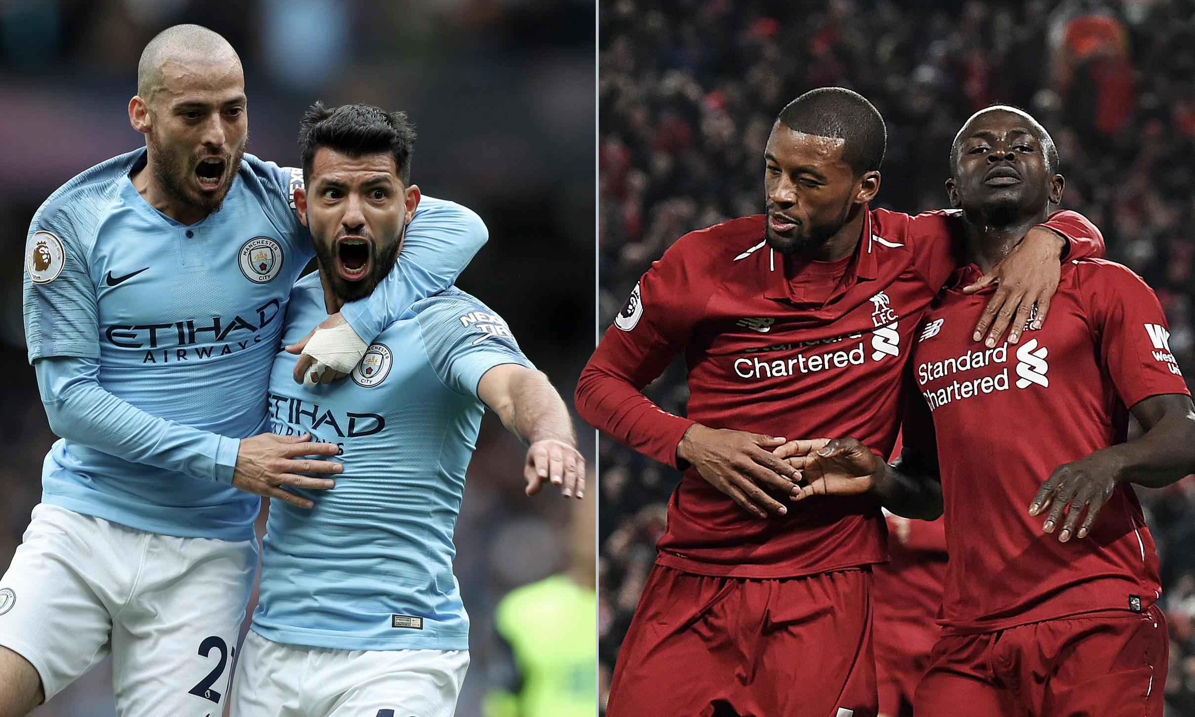Who do Manchester United fans prefer for the title: City or Liverpool?