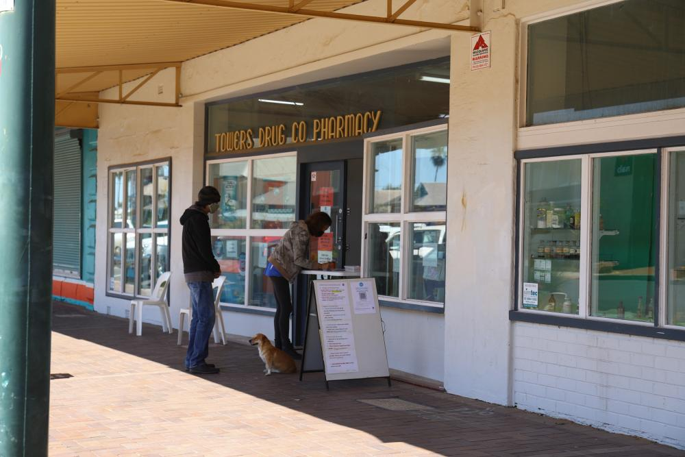 The local pharmacy in the rural town of Bourke