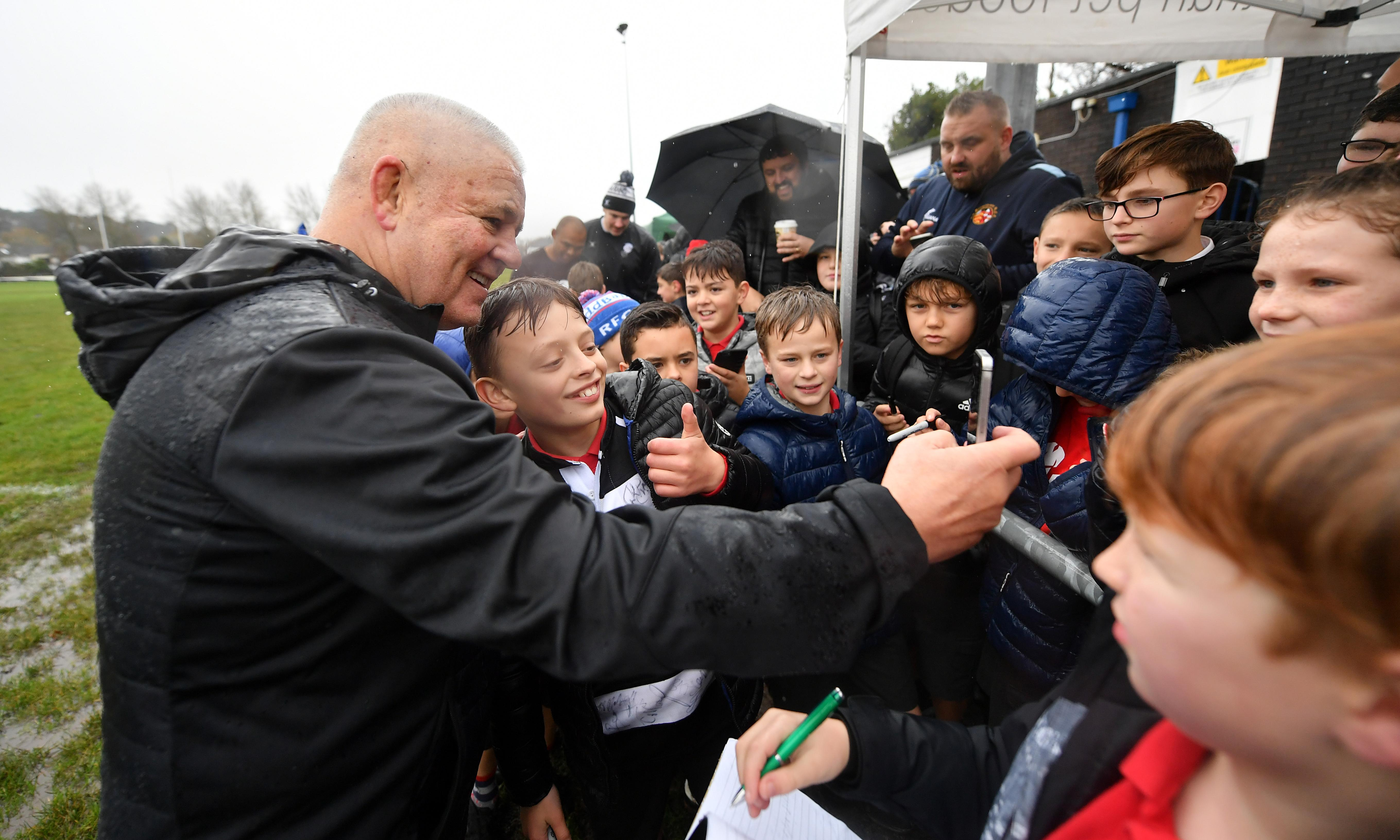 Warren Gatland facing up to strange farewell to Wales with Barbarians