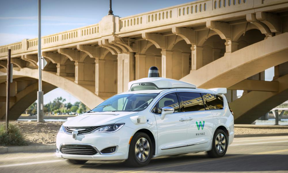 Waymo's self-driving minivan