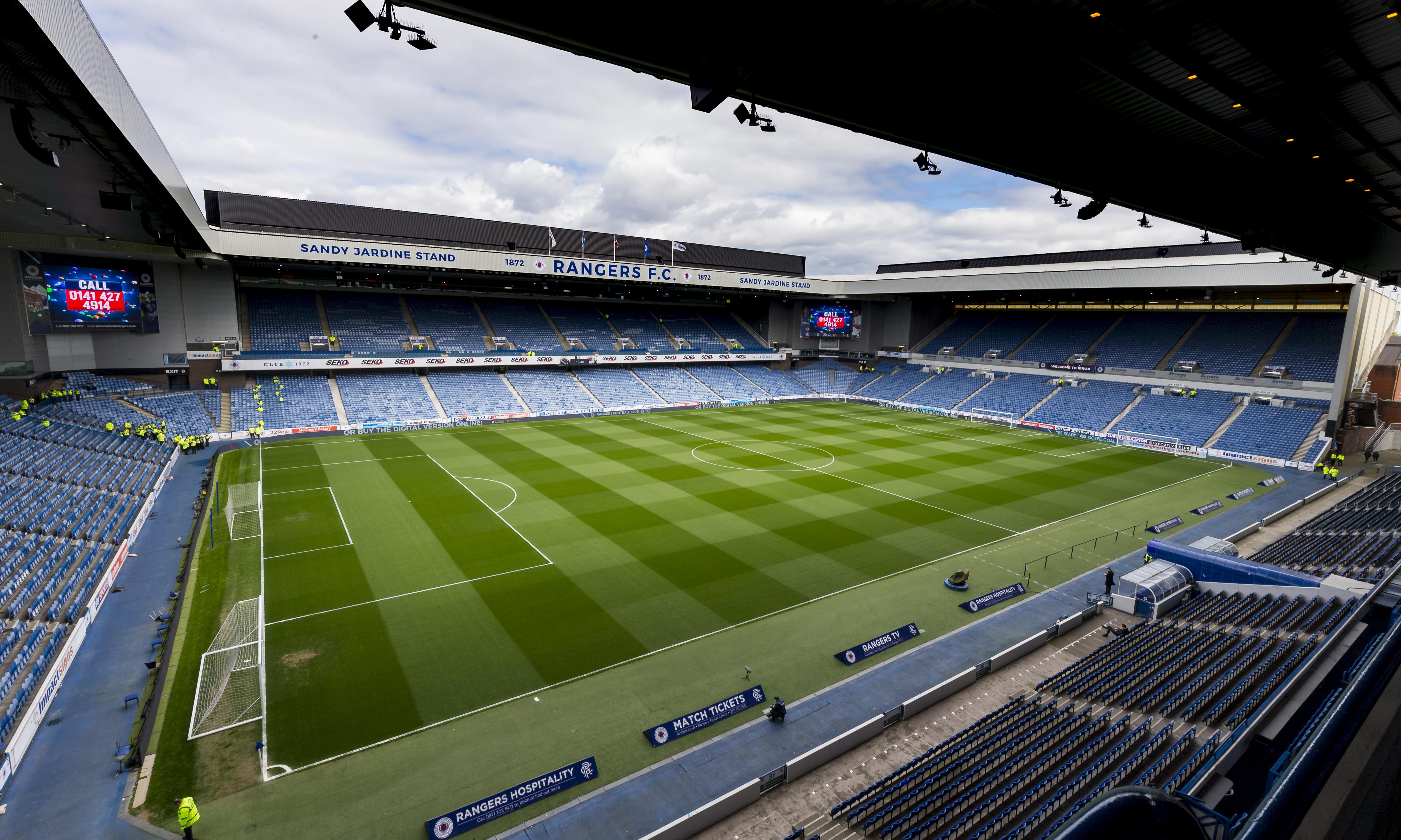Rangers punished for sectarian chants with Ibrox part-closure