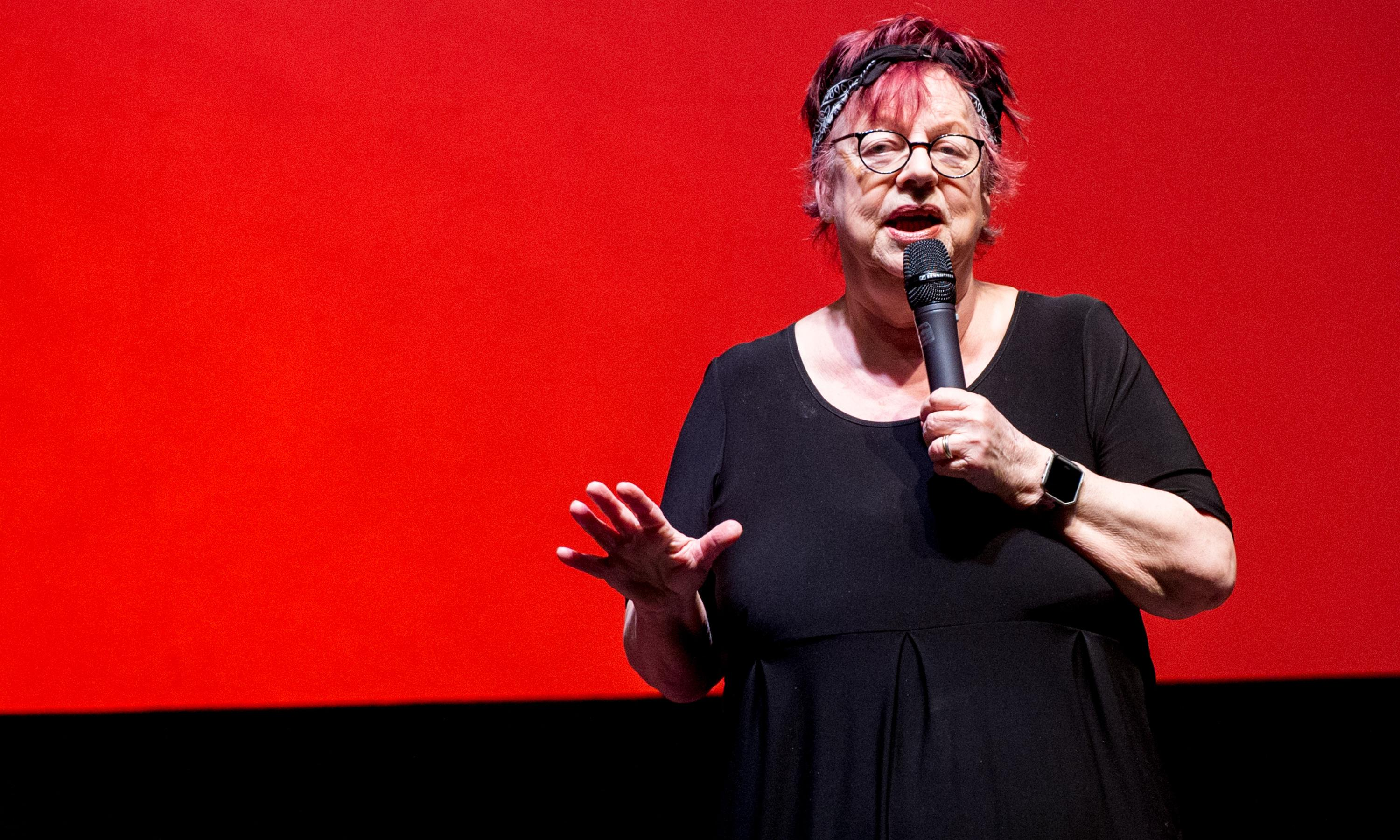 Jo Brand apologises for 'crass and ill-judged' battery acid joke