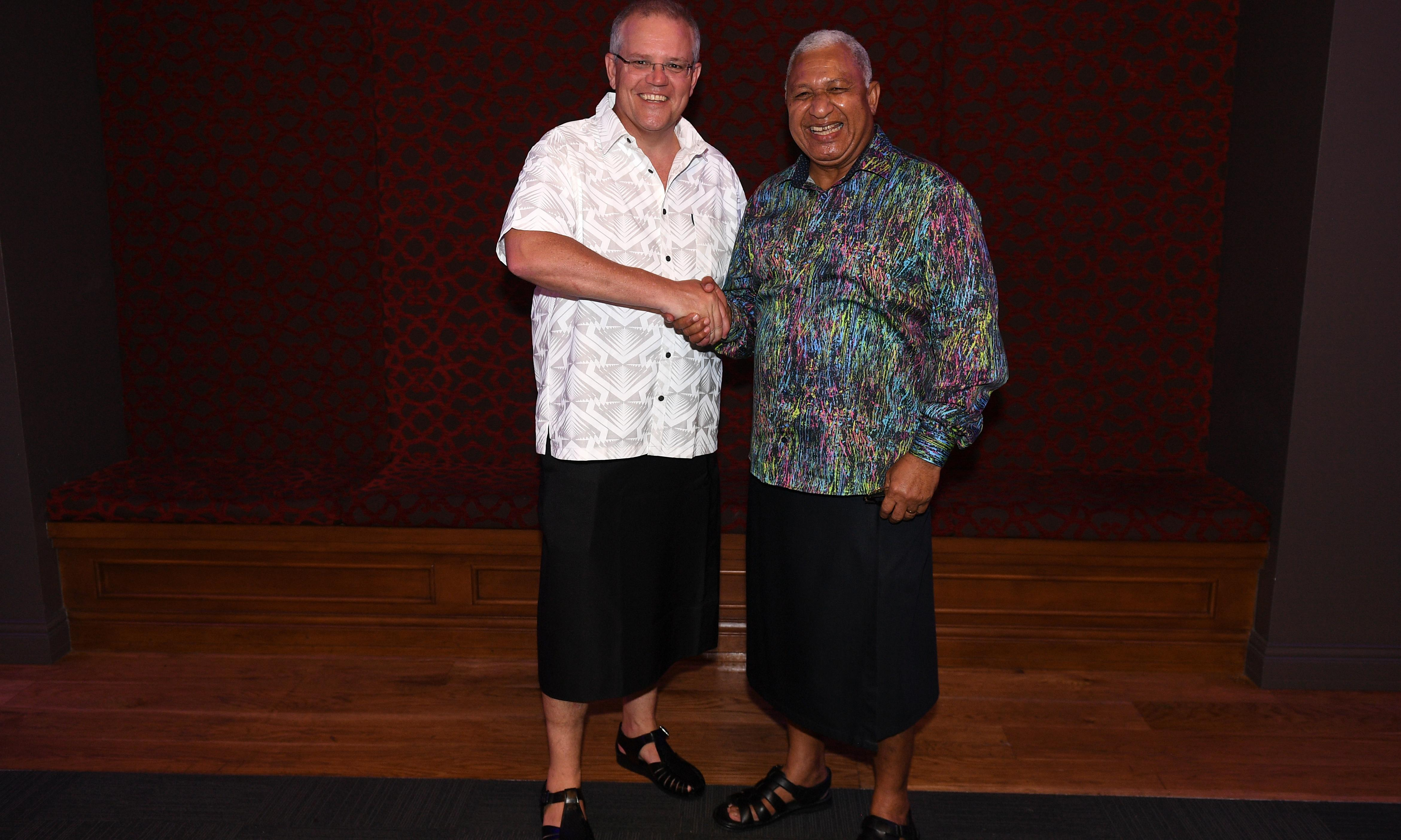 Fiji urges Australia not to put coal above Pacific nations battling climate change