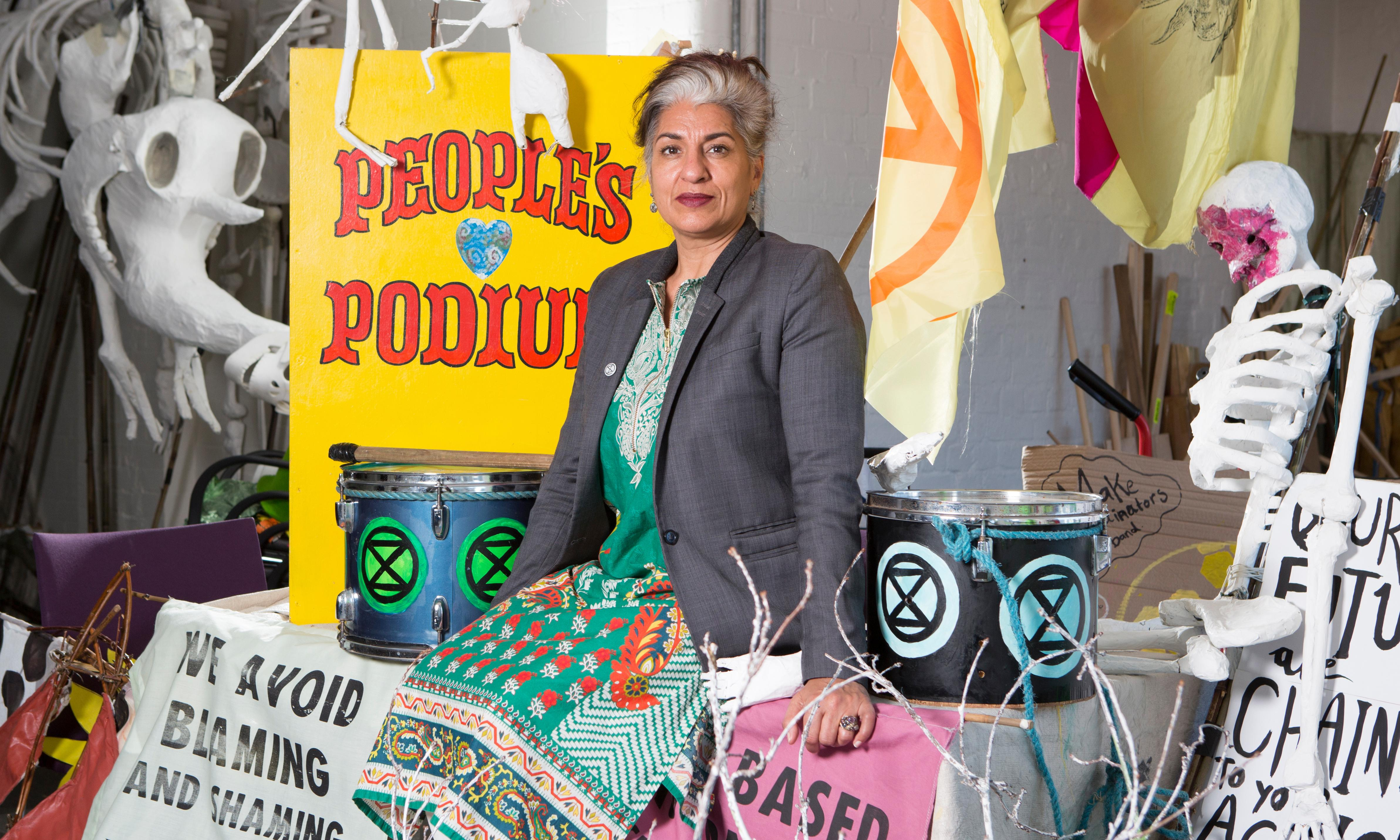 Farhana Yamin: 'It took 20 minutes to unglue me from Shell's office. It was a bit painful'