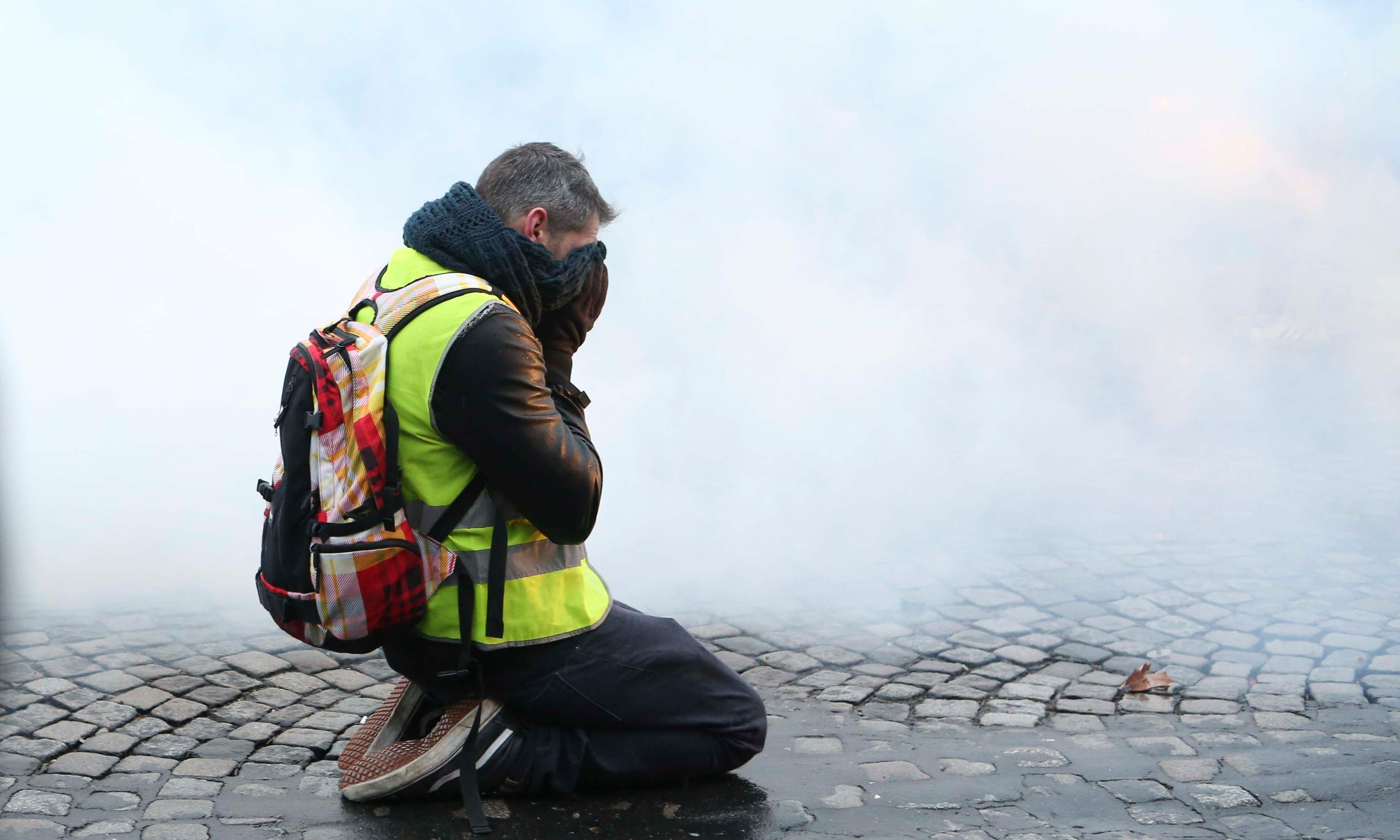 Gilets jaunes: grassroots heroes or tools of the Kremlin?