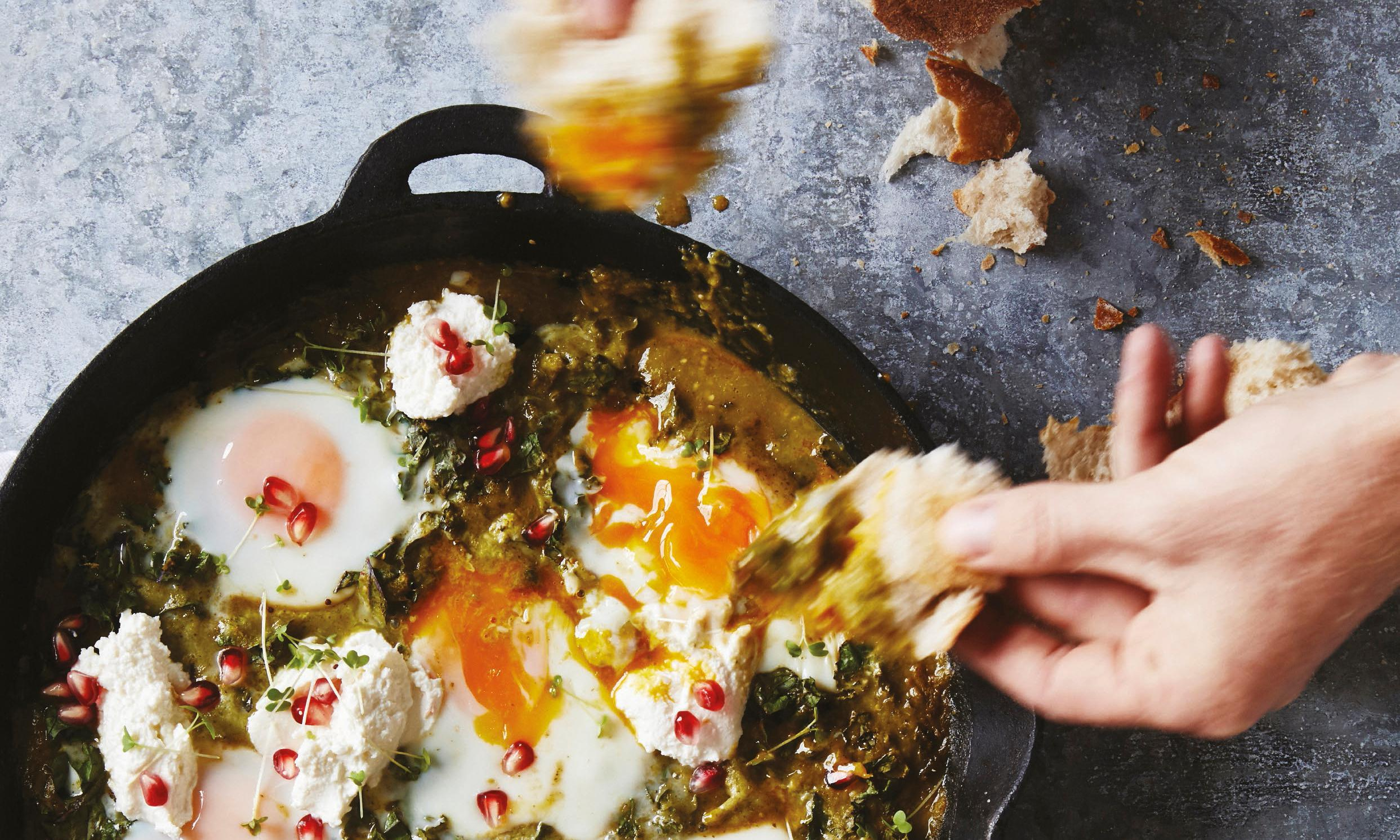 Bondi Harvest's Mexican salsa verde eggs recipe