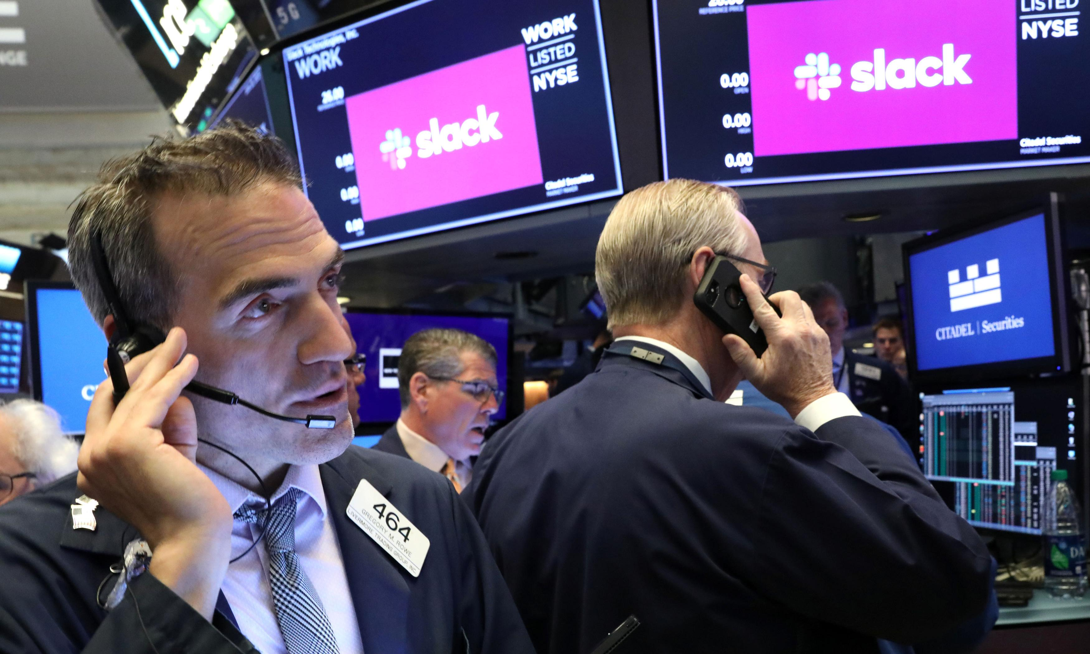 Slack IPO: stocks sell at 50% higher than expected as company's value tops $20bn
