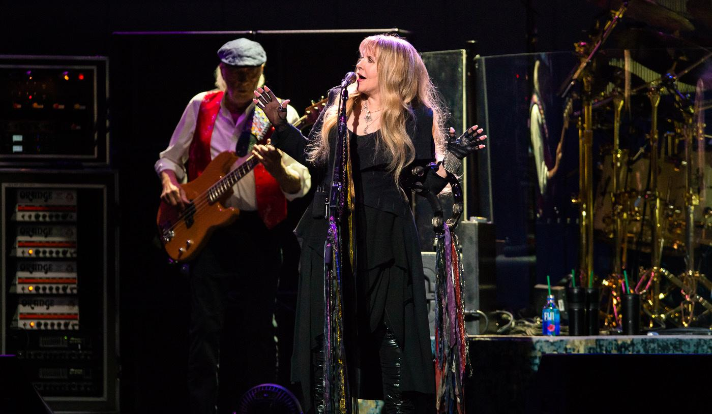Fleetwood Mac: Australian tour opens with emotional first night – now with added Neil Finn