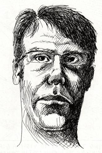 John Lethem self portrait