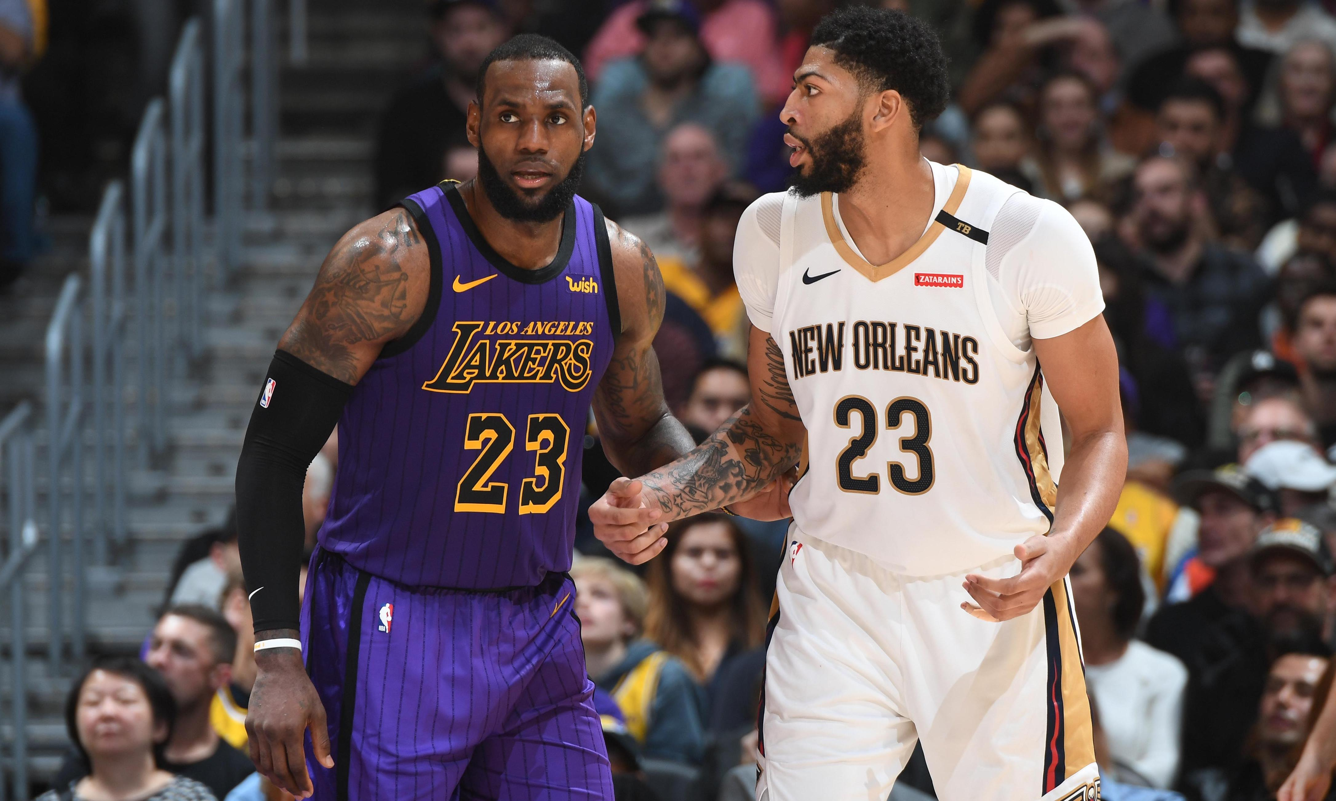 Will the LeBron James-Anthony Davis axis turn the Lakers from losers to champs?