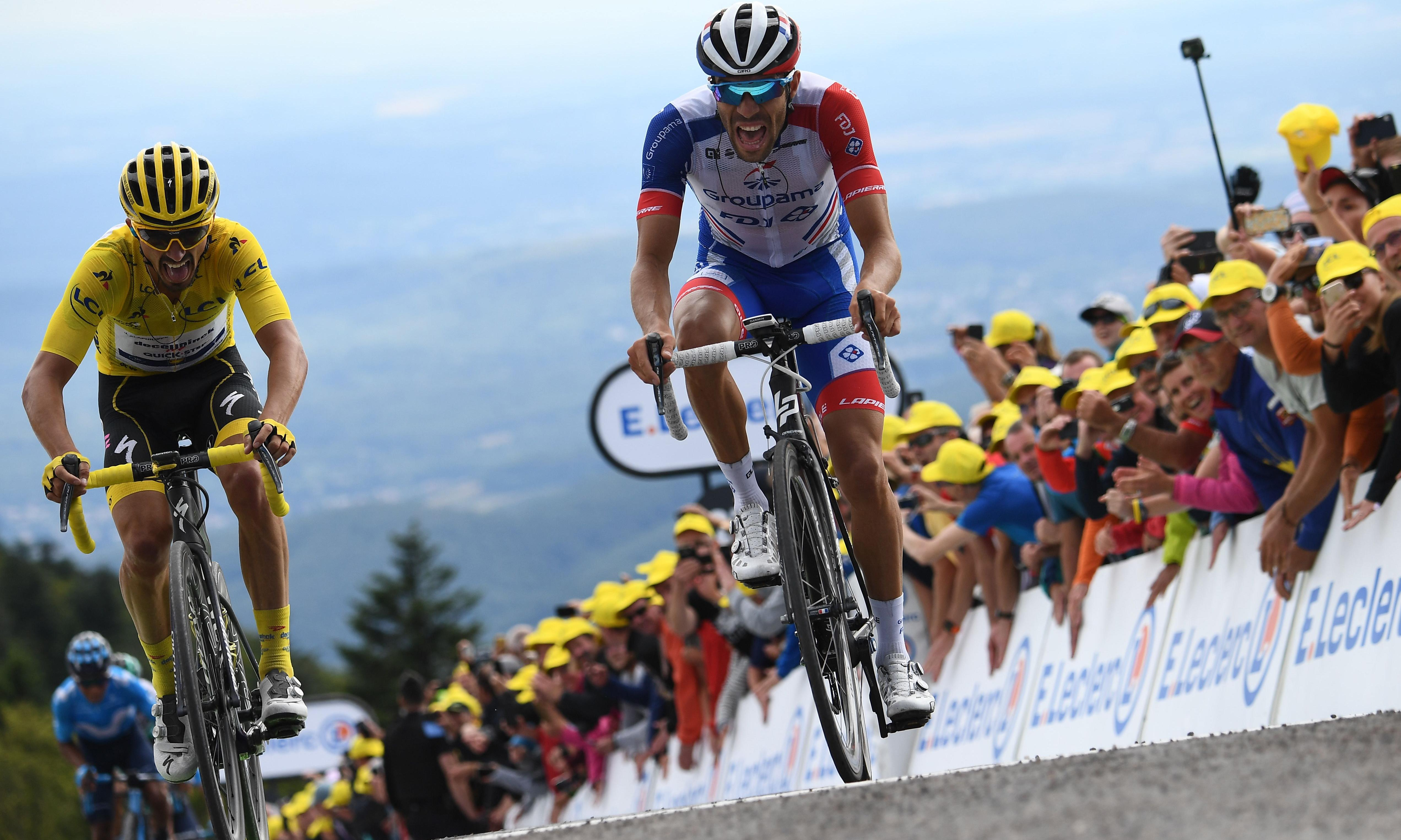 Thibaut Pinot shows fine vintage to lift French spirits in Tour de France