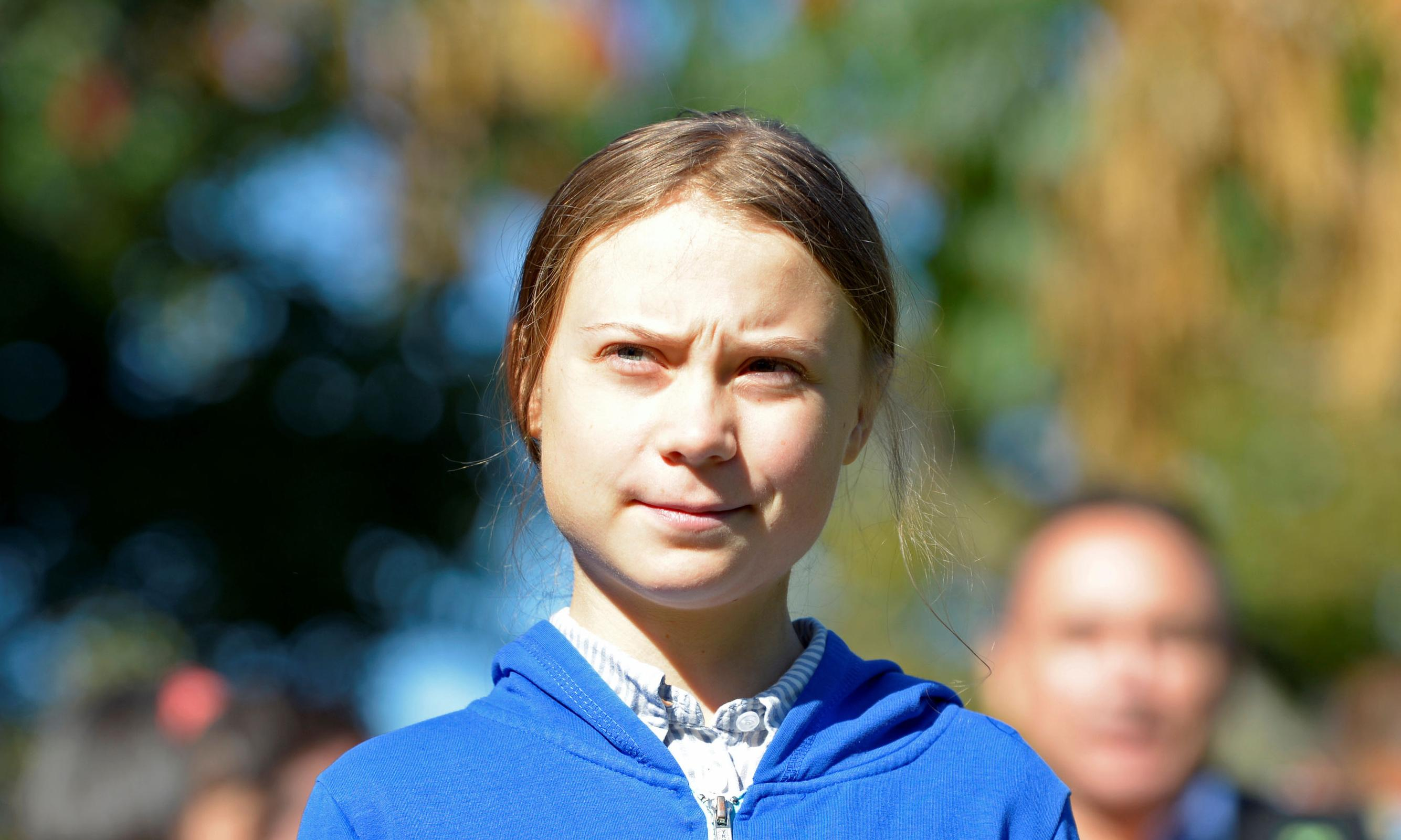 Greta Thunberg's defiance unsettles the patriarchy – wonderful