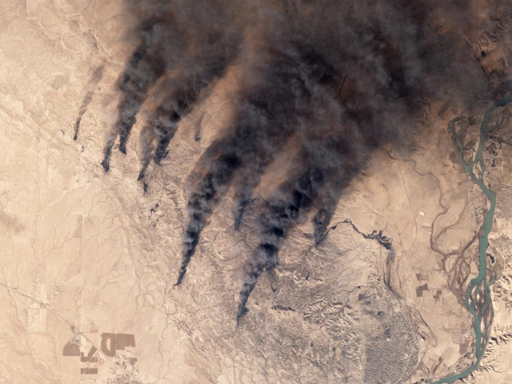 oil well fires iraq