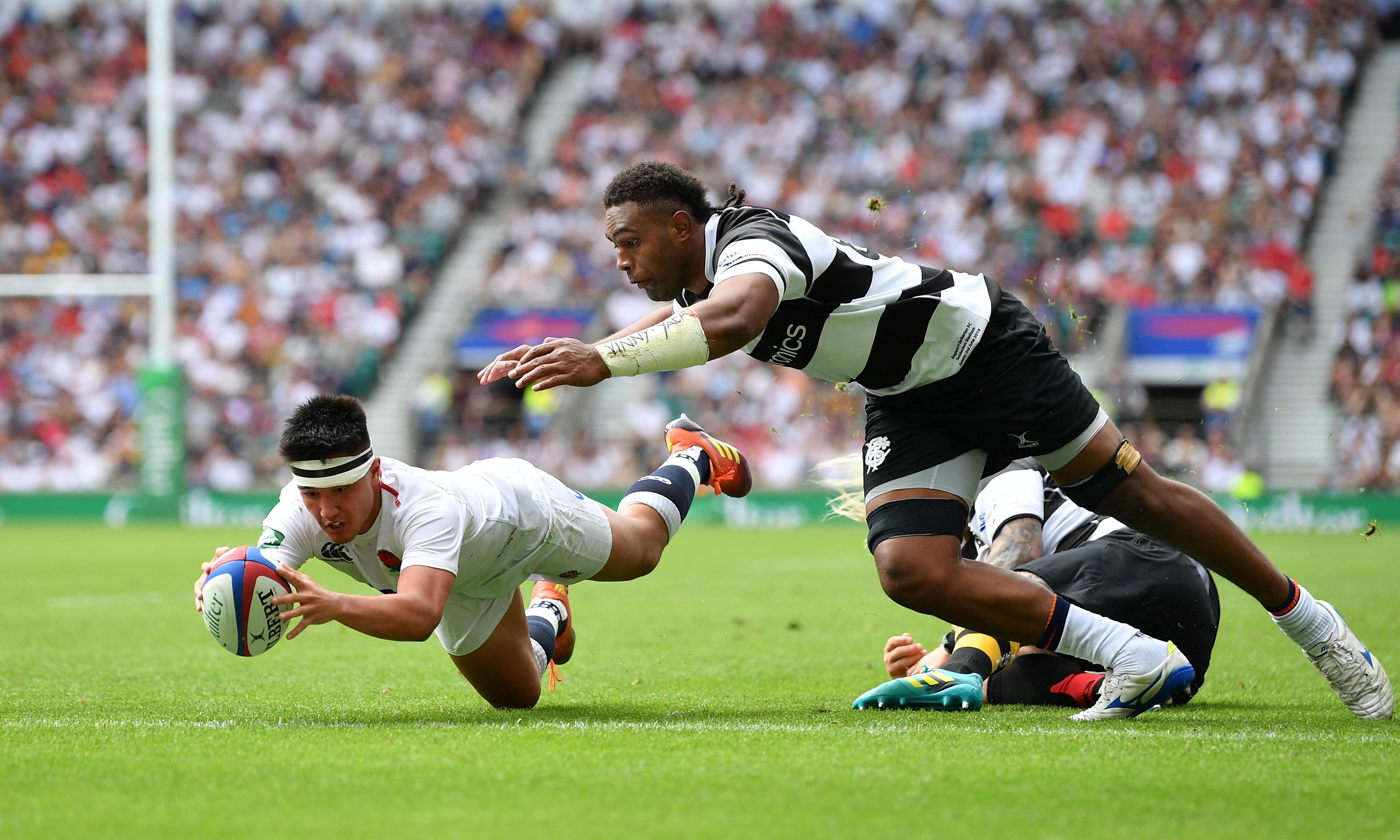 England young guns Dombrandt and Smith shine in defeat of Barbarians