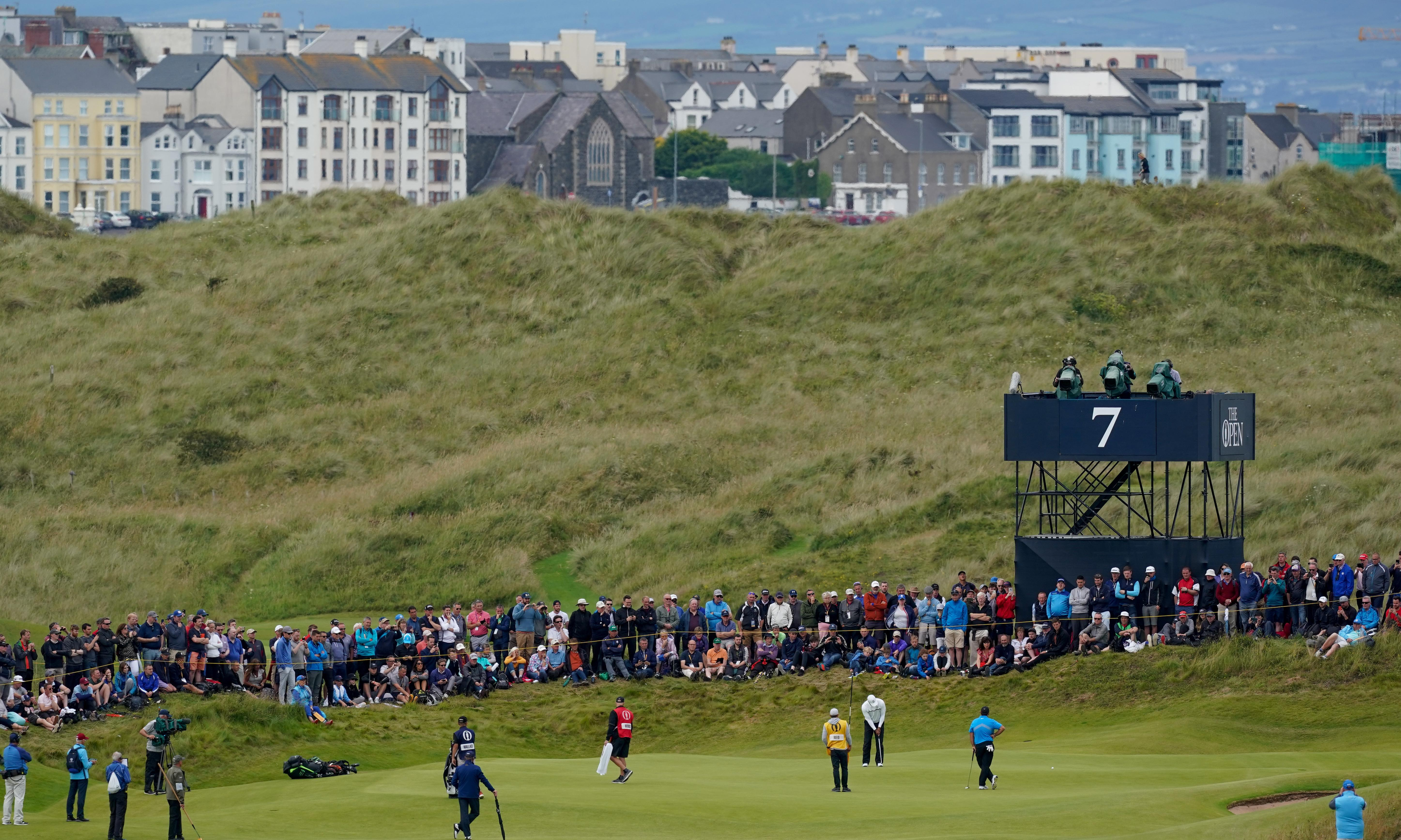 Northern Ireland's rare Open helps Portrush cash in on the green pound