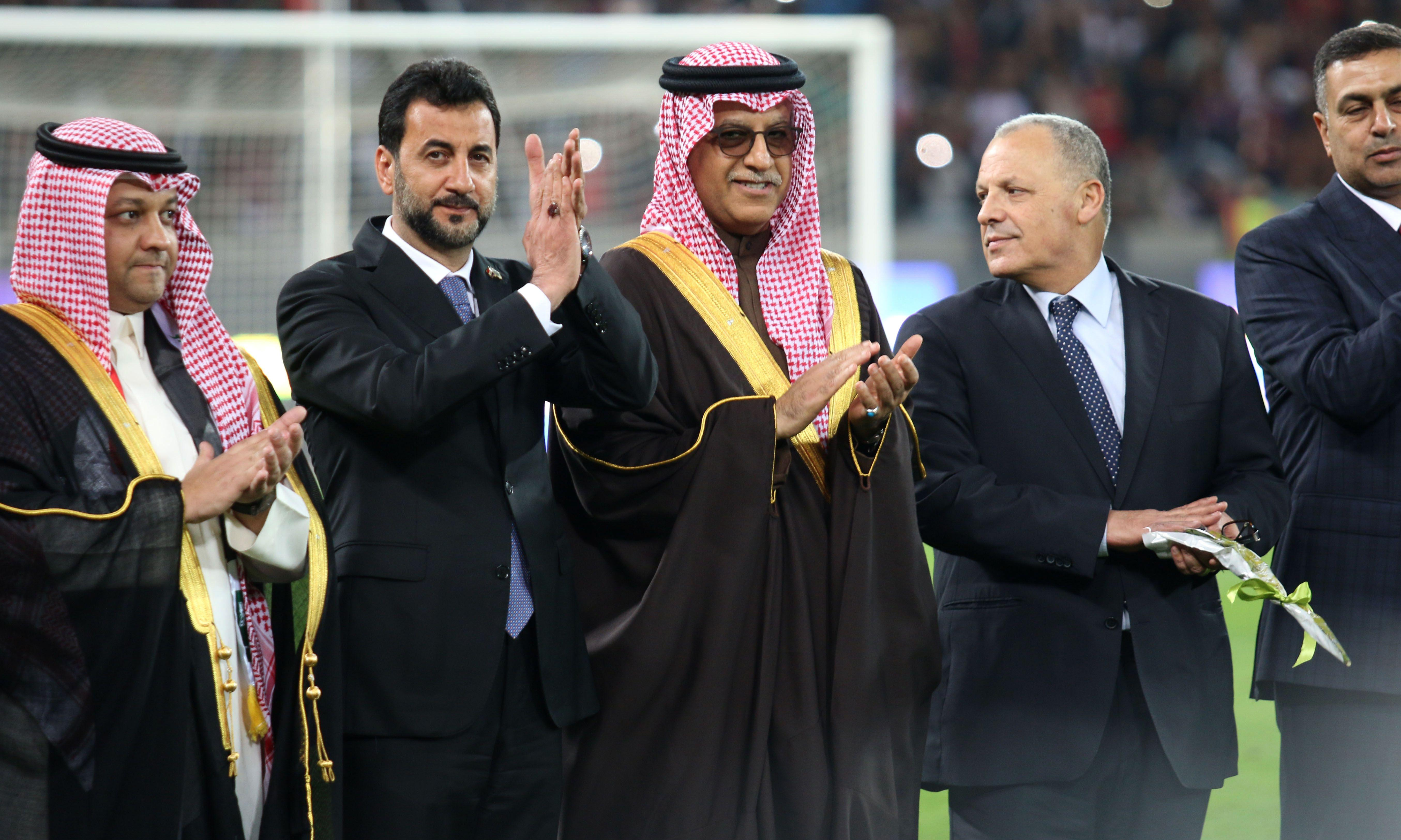 Football Federation Australia criticised for supporting Sheikh Salman's re-election