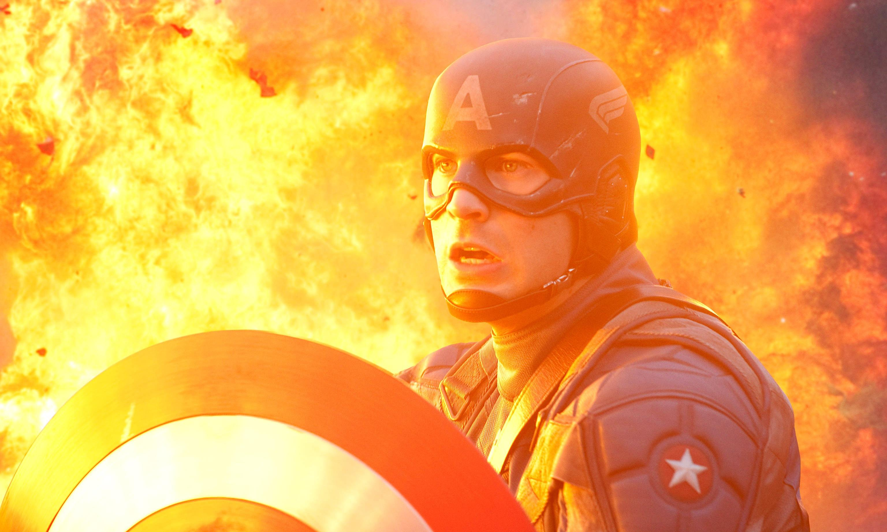 Sorry Marty, but Captain America is daring, serious art