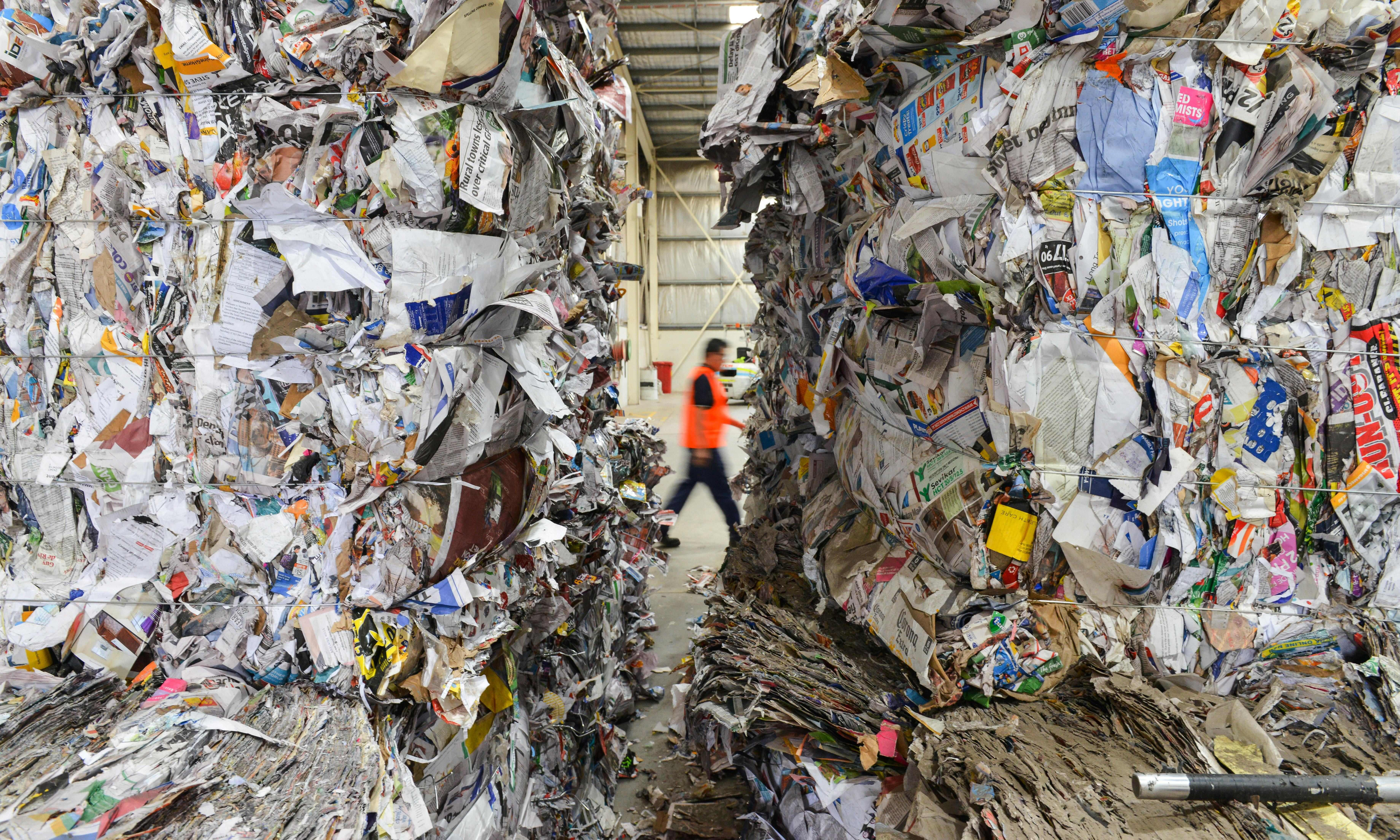 Australia will ban export of recyclable waste 'as soon as practicable', PM vows