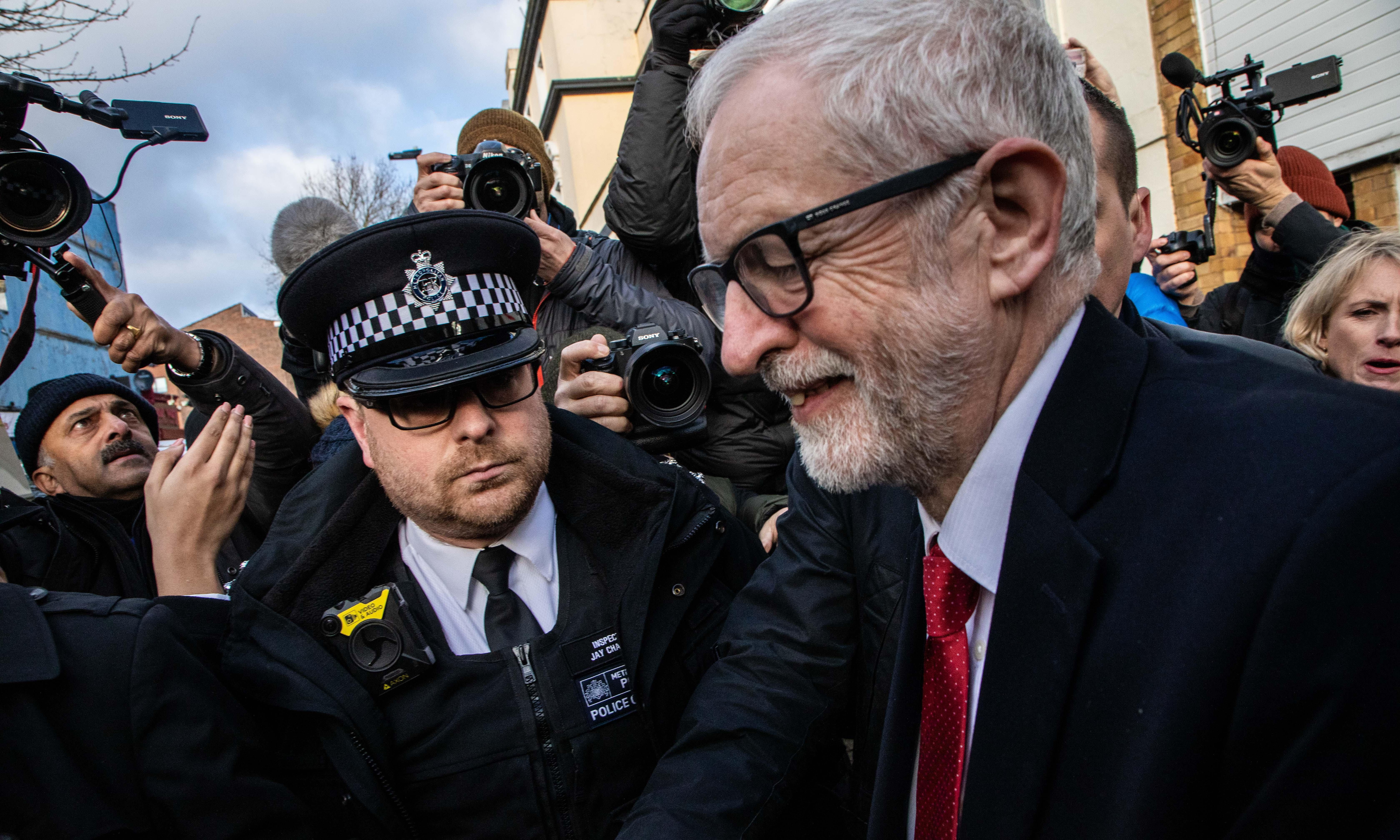 Jeremy Corbyn 'very sad' at election defeat but feels proud of manifesto