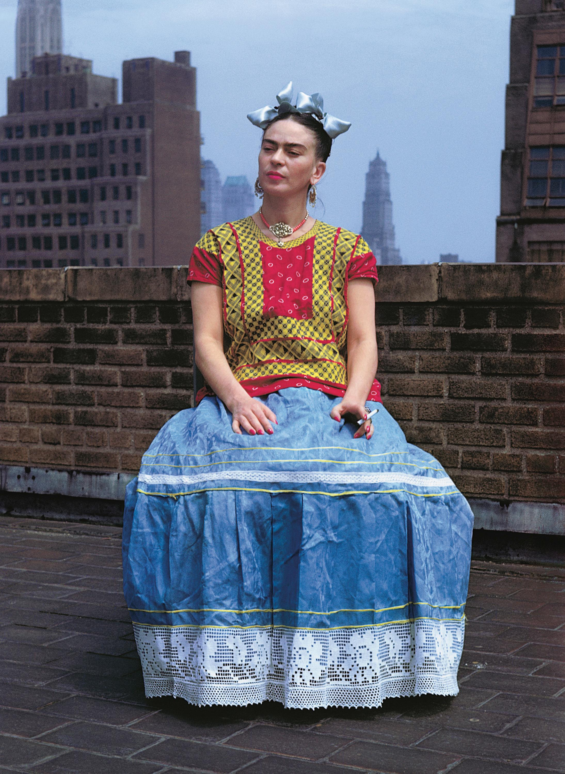 The big picture: Frida Kahlo in New York, 1939