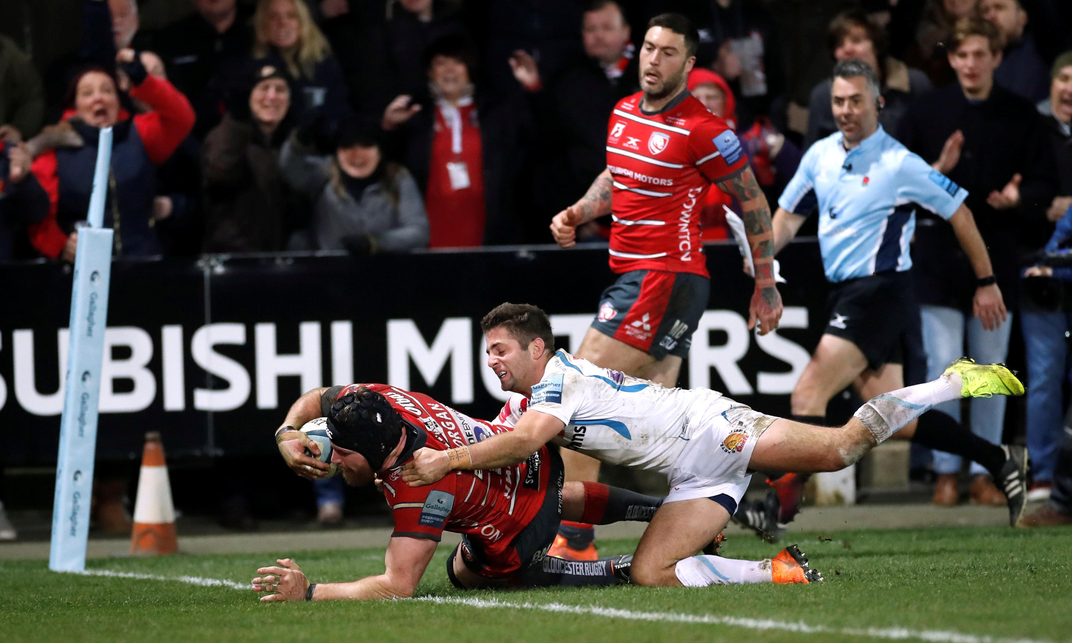 Ben Morgan's late try gives Gloucester space to see off Exeter Chiefs